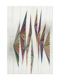Untitled (Colored Butterfly White Background 10 Wings 527)