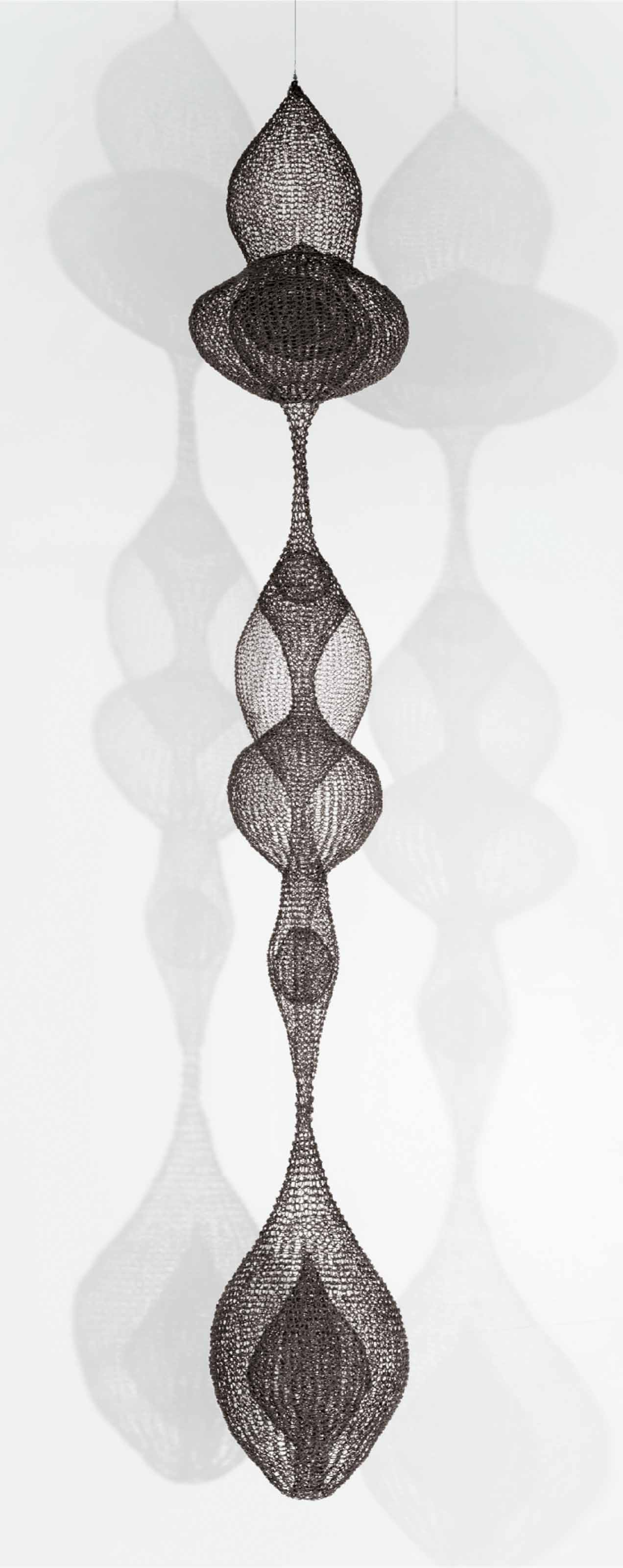 Untitled (S.108 Hanging, Six-Lobed, Multi-Layered Continuous Form Within a Form)