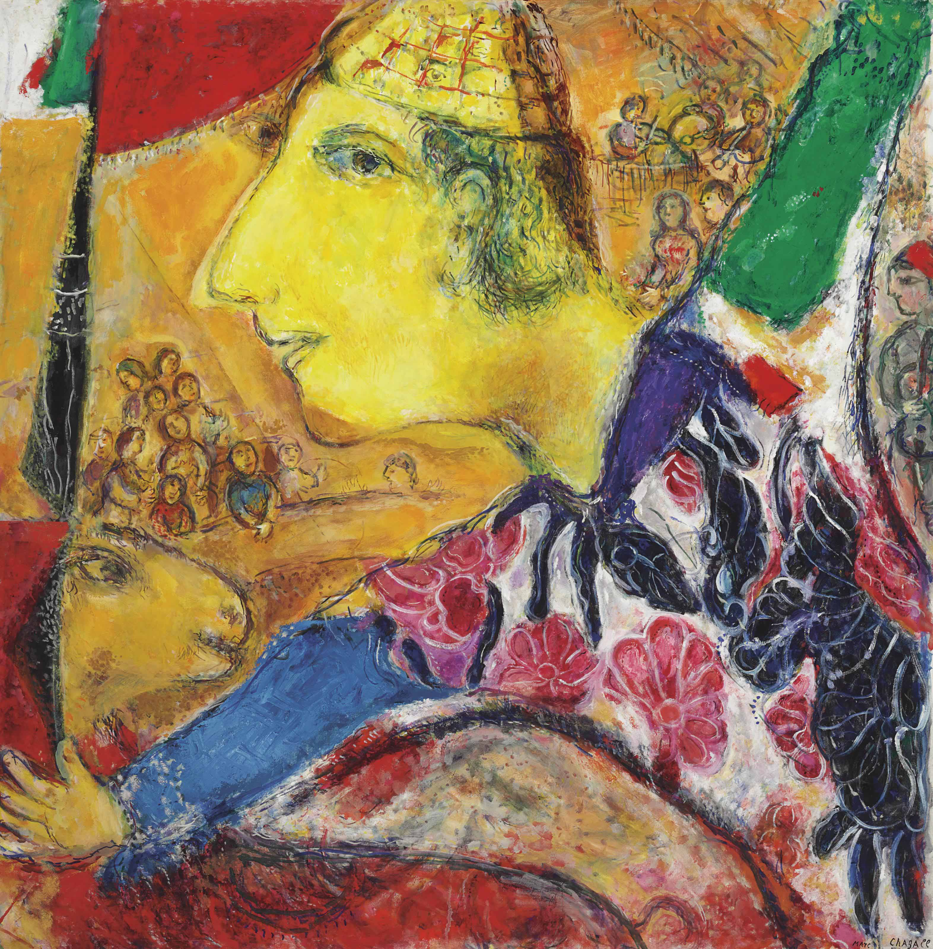 A Surprisingly Dark Side Of Marc Chagall Heads To Jewish ... |Marc Chagall