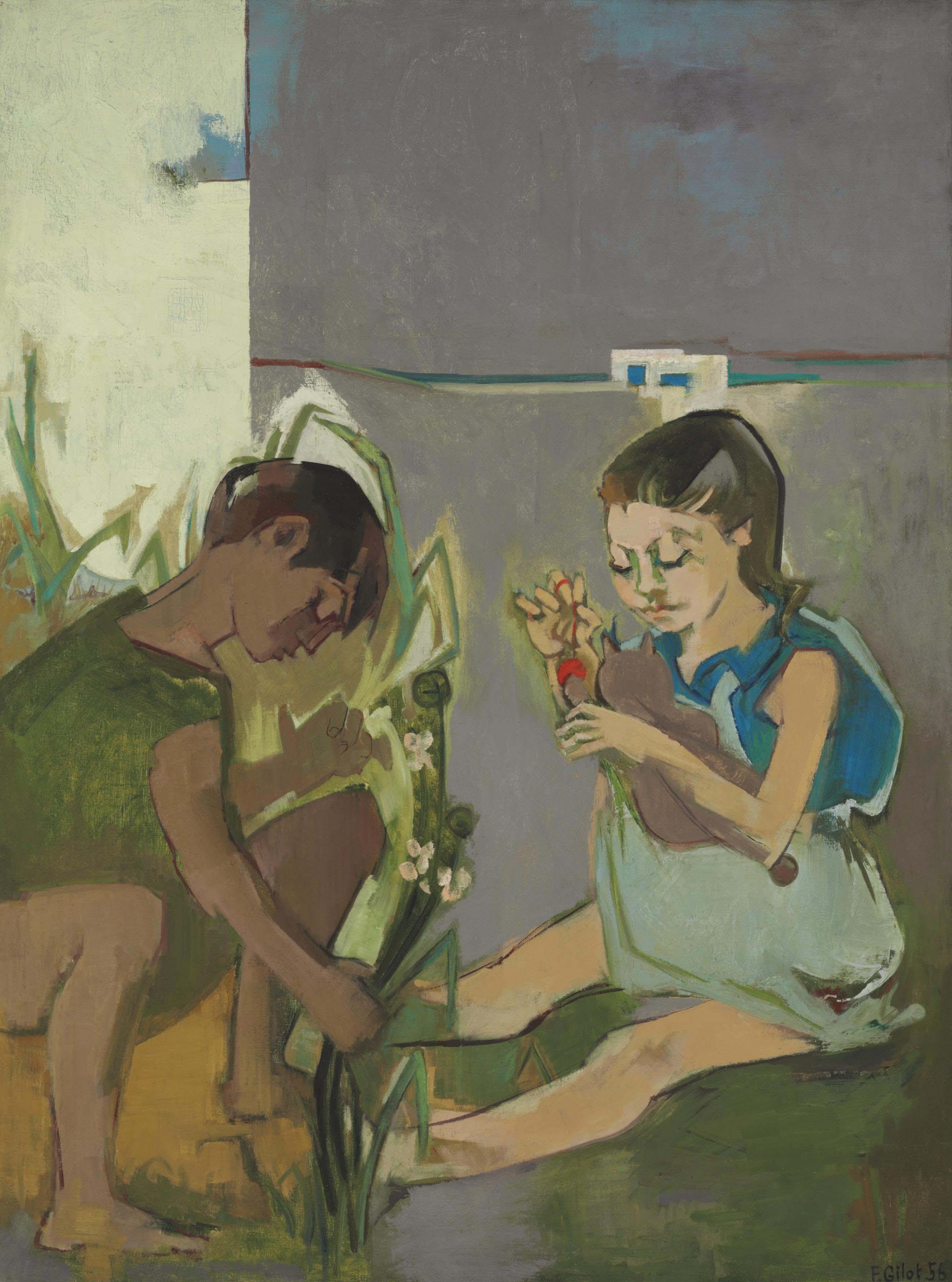 Claude et Paloma en Tunisie