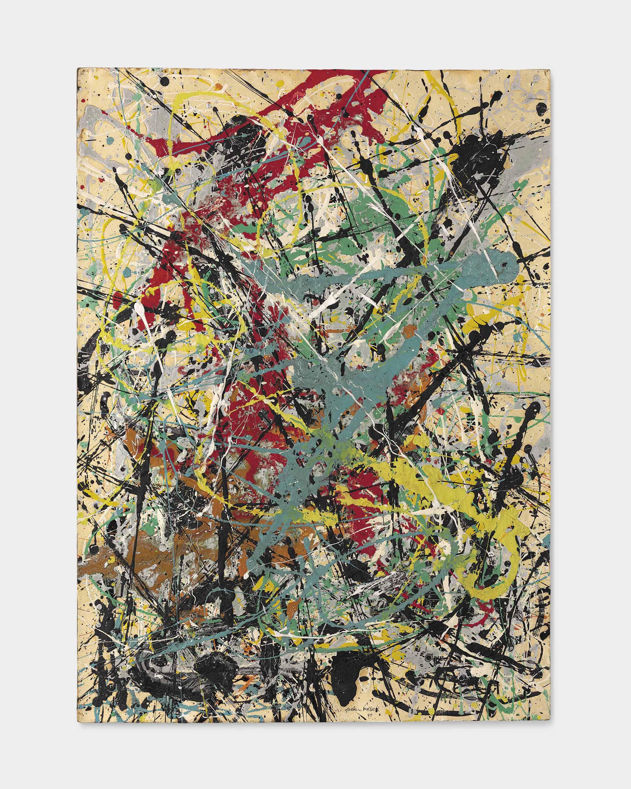Audio: Jackson Pollock, Number 16, 1949