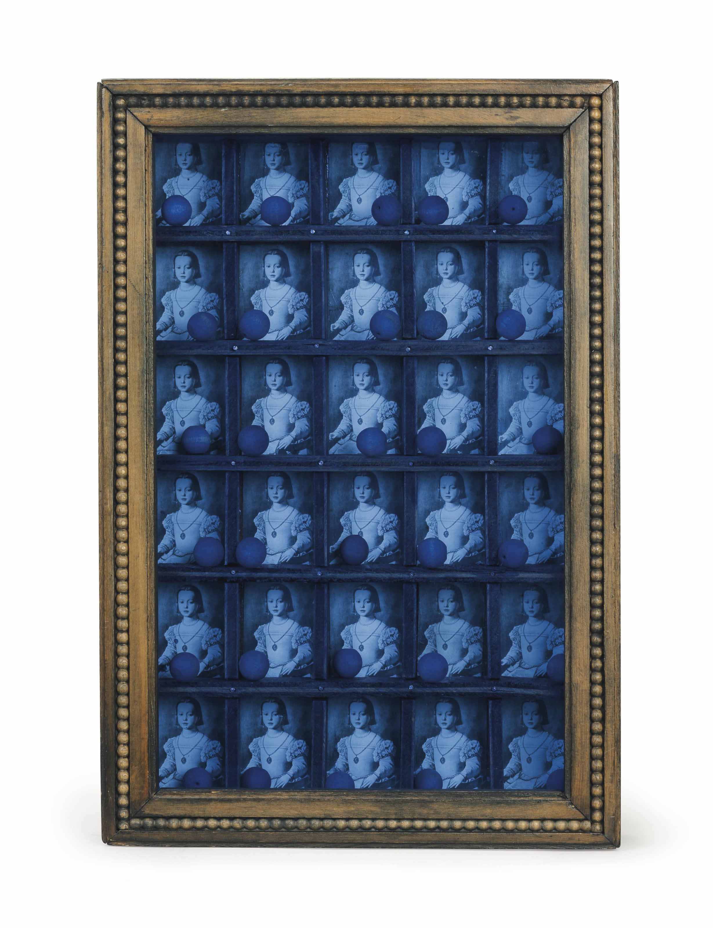 Untitled (Compartmented Medici Princess [Bronzino])