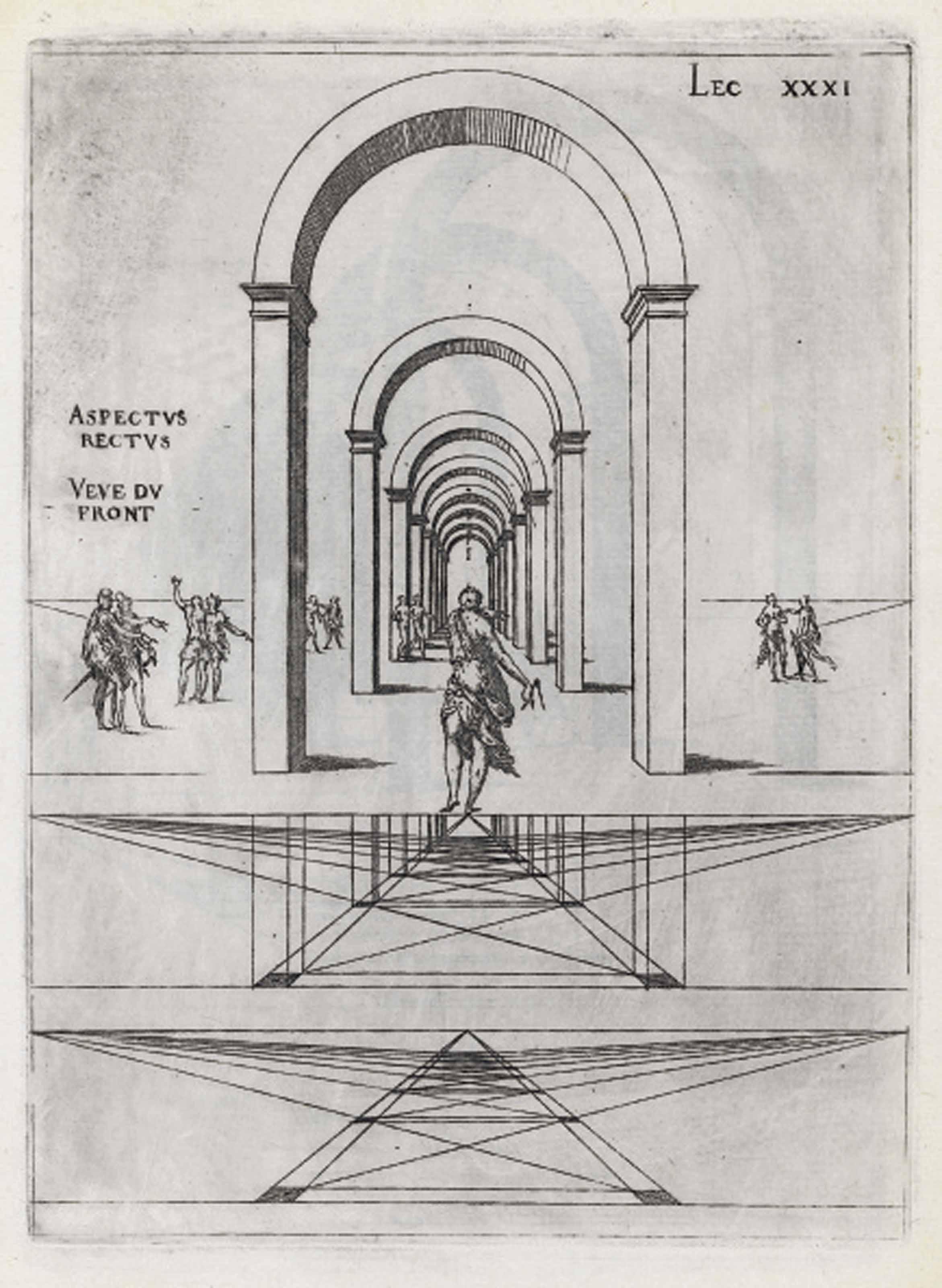 ANDROUET DU CERCEAU, Jacques.  Leçons de perspective positive. Paris: Mamert Patisson, 1576.