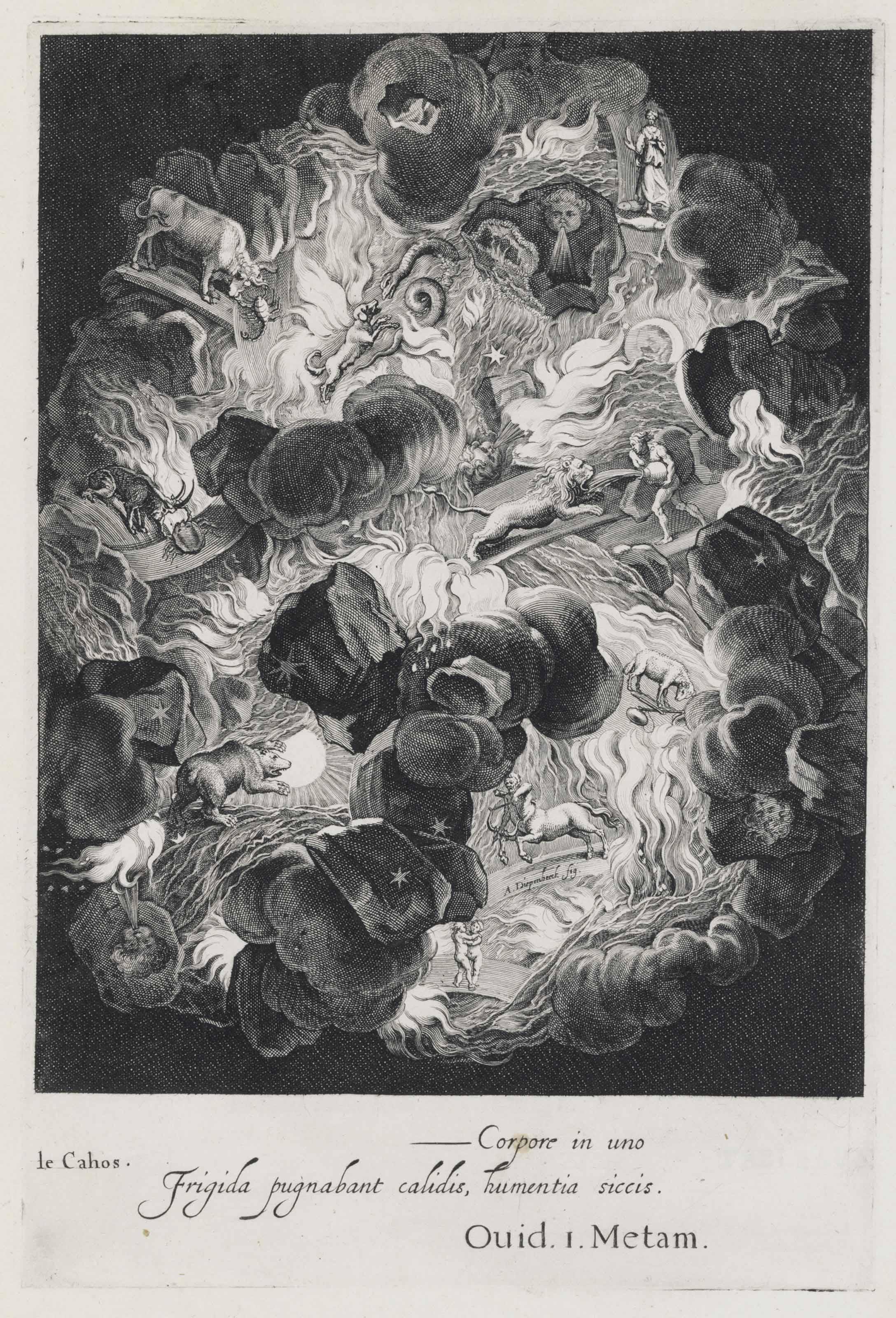 MAROLLES, Michel de (1600-1681). Tableaux du temple des muses tirez du cabinet de feu Mr. Favereau. Paris: Antoine de Sommaville, 1655.