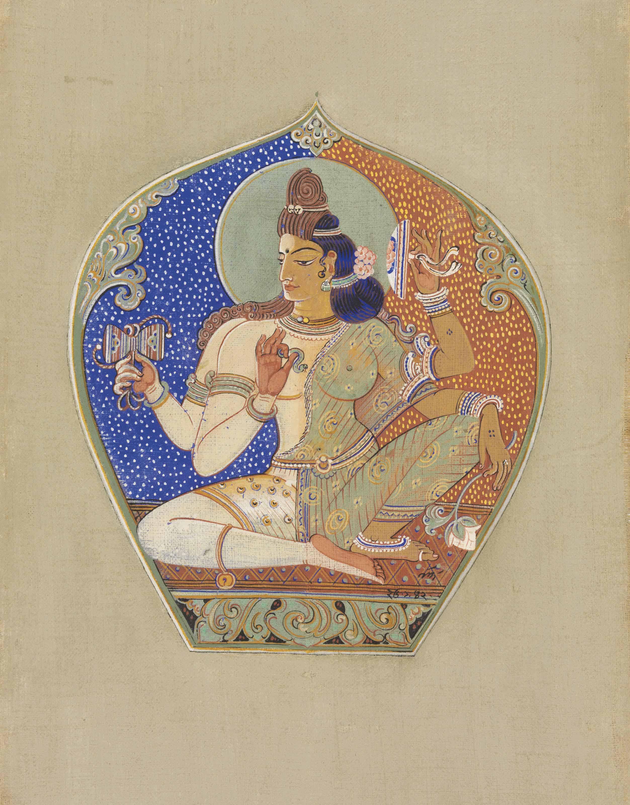 Untitled (Ardhanarishvara)