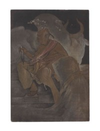 Untitled (Priest with Bull and Devotee)