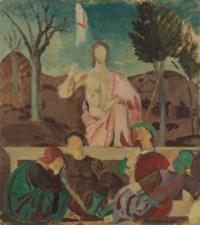 Résurrection (d'après Piero della Francesca)