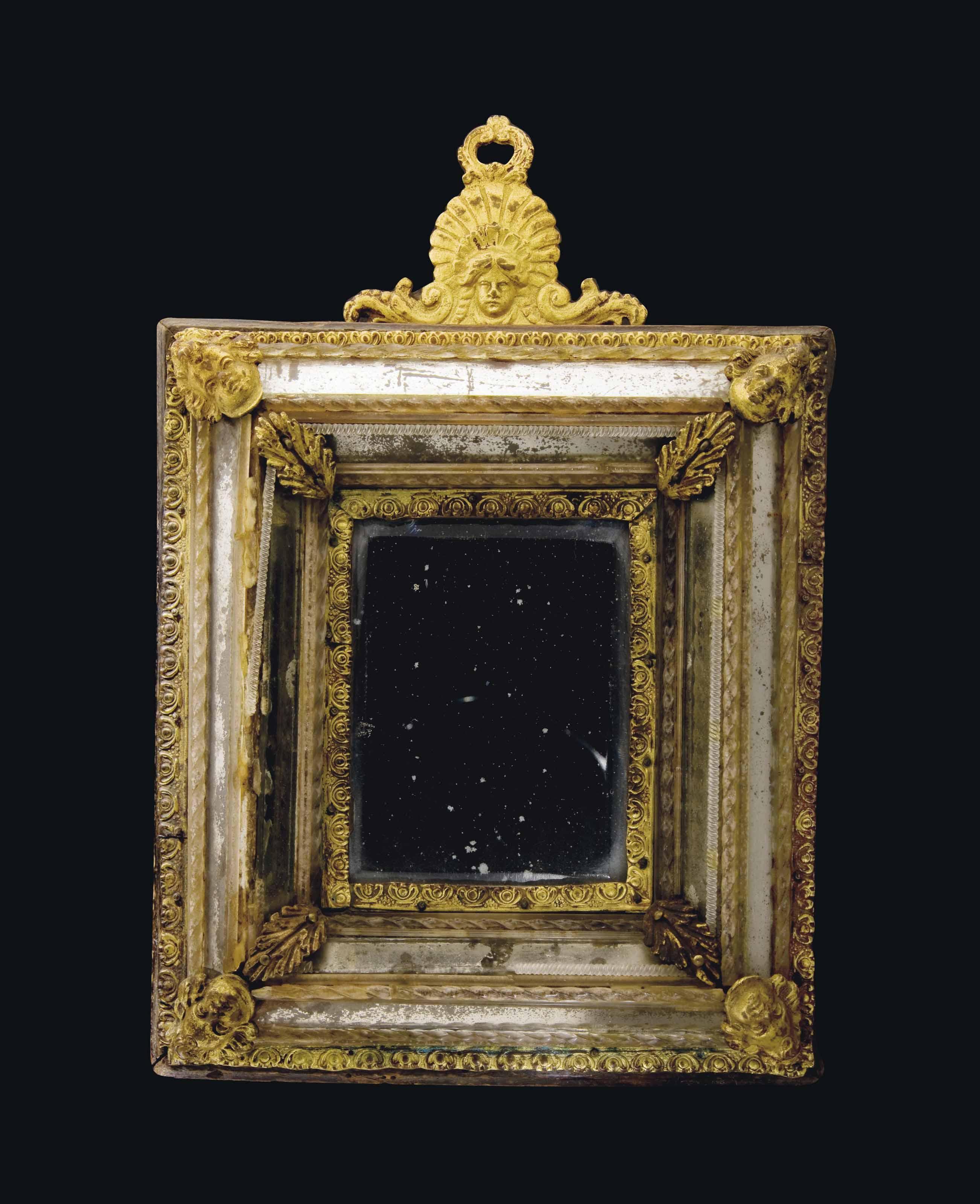 Miroir rectangulaire en bronze dore et verre venise probablement xixeme siecle christie 39 s for Miroir dore rectangulaire