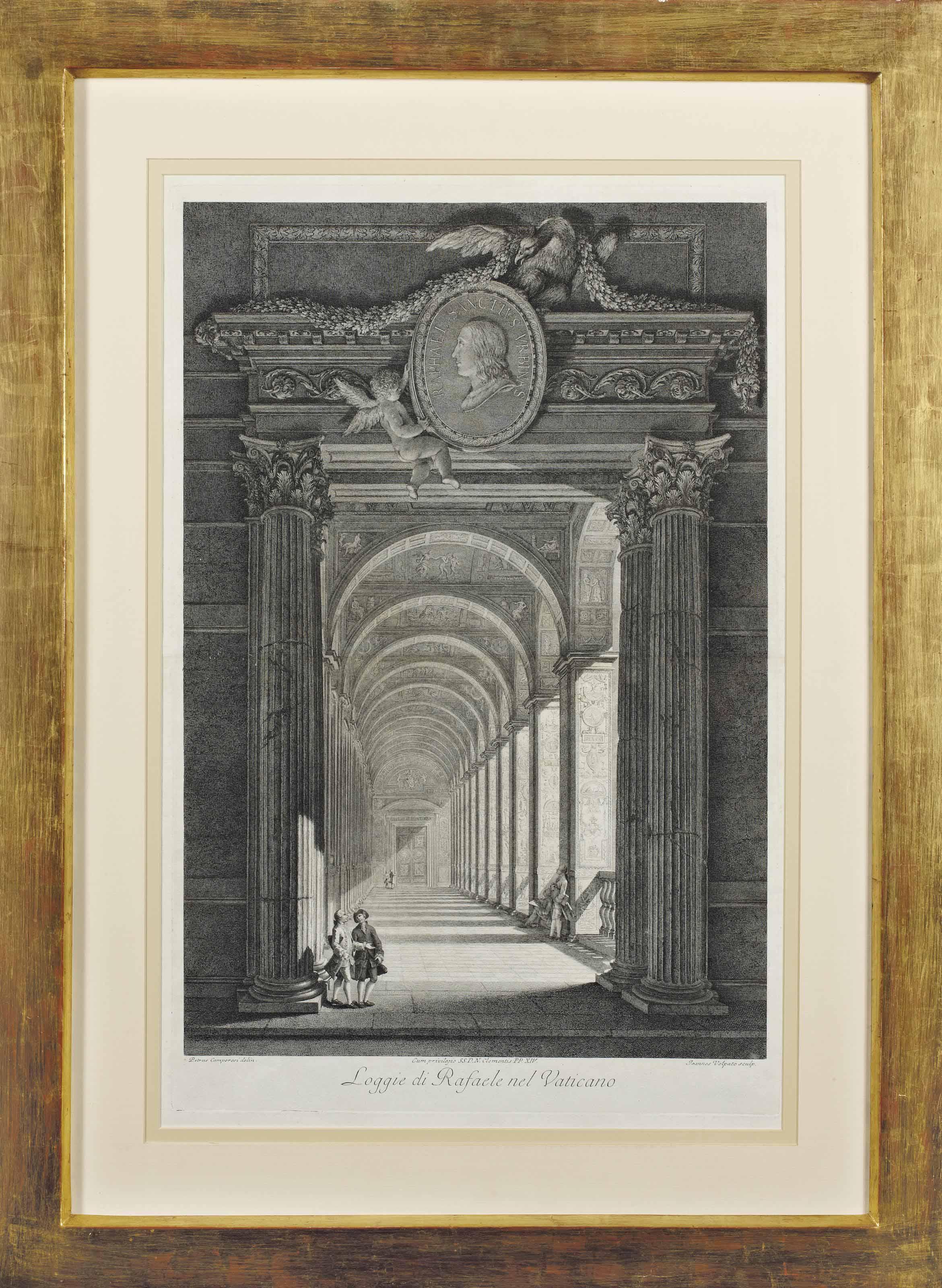 Loggie di Rafaele Nef Vaticano par Giovanni Volpato