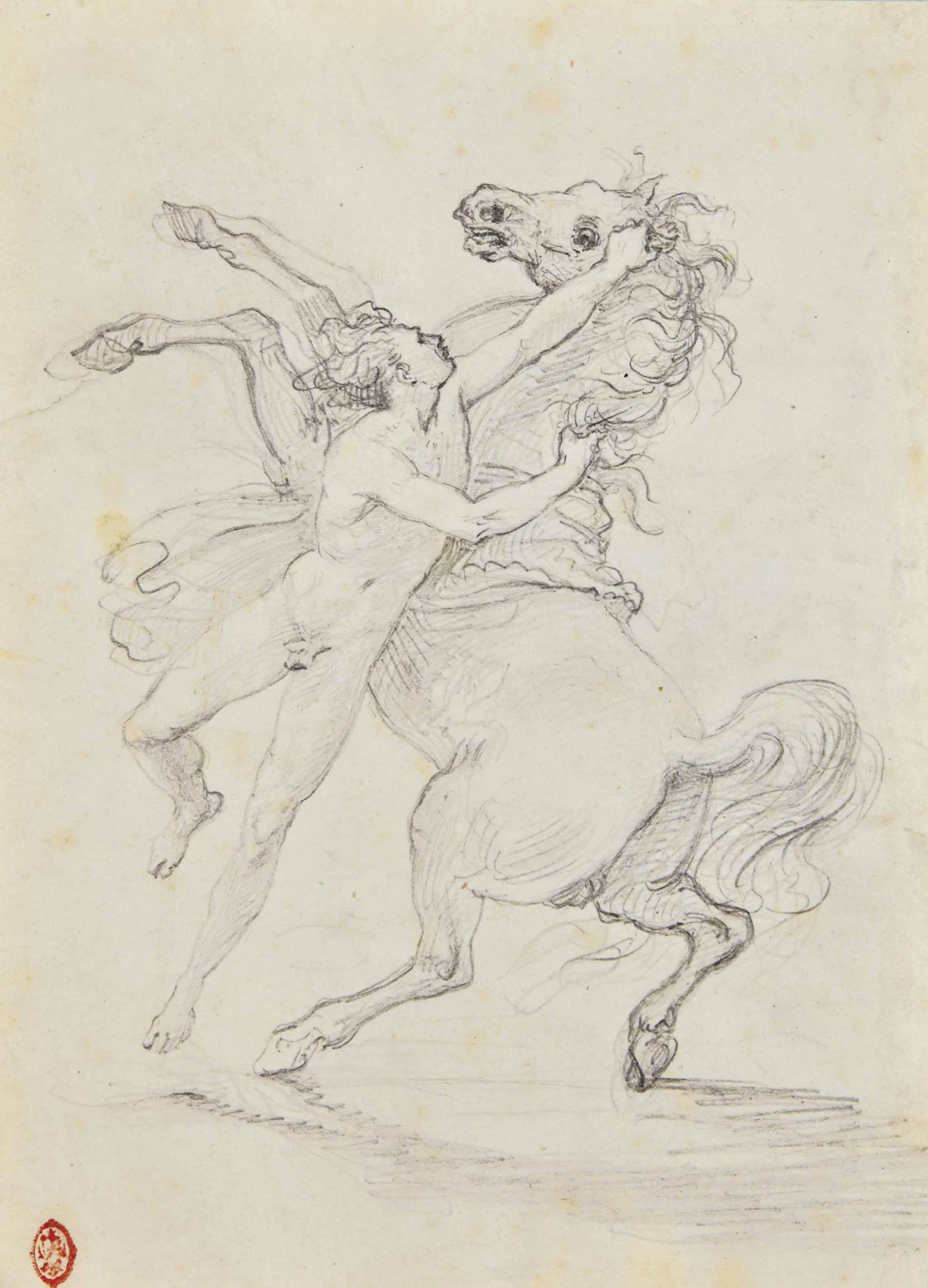 Alexandre domptant Bucéphale