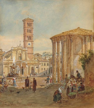 Franz ALT (Vienne 1821-1914)