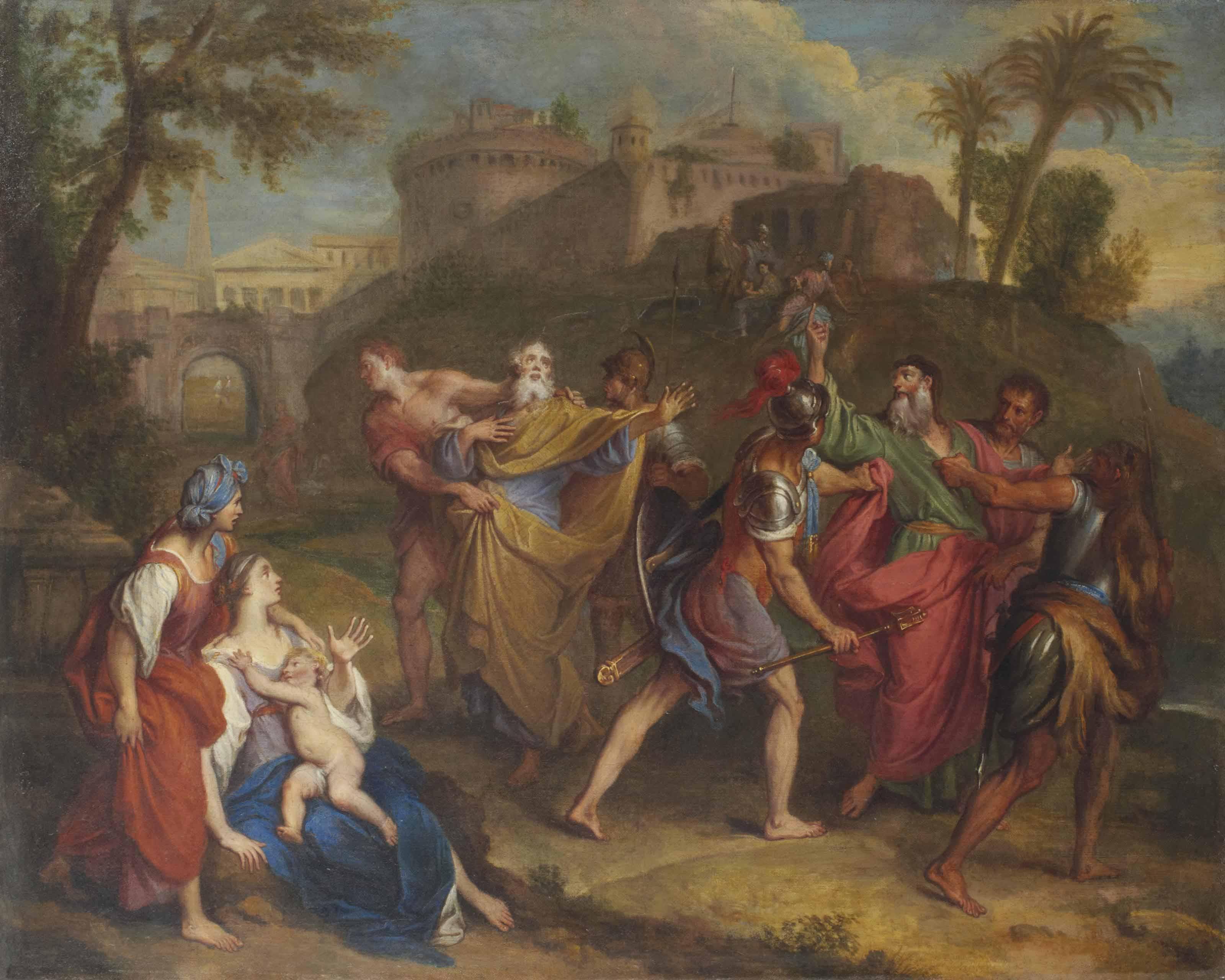 L'Arrestation des Apôtres