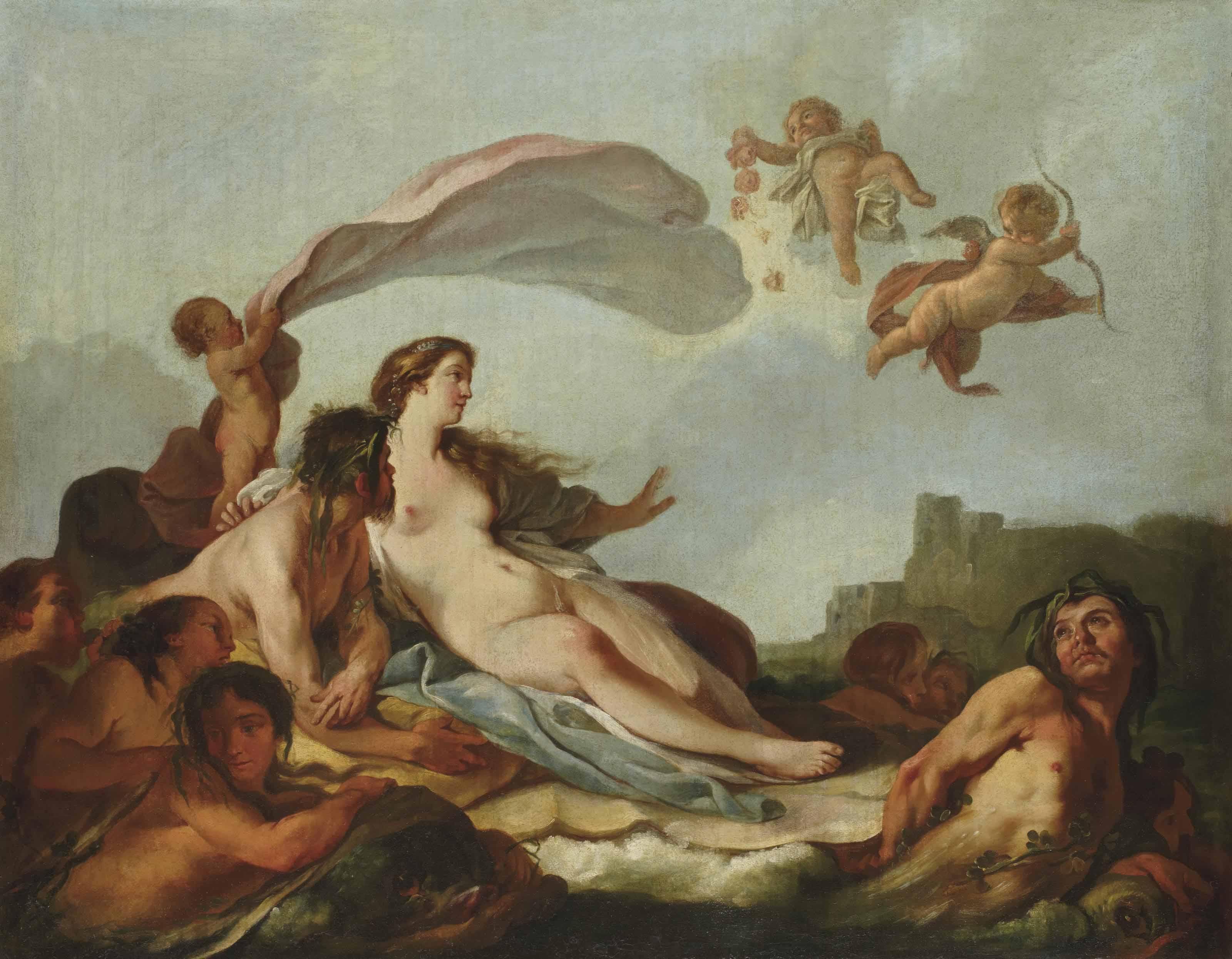 Vénus sur les eaux