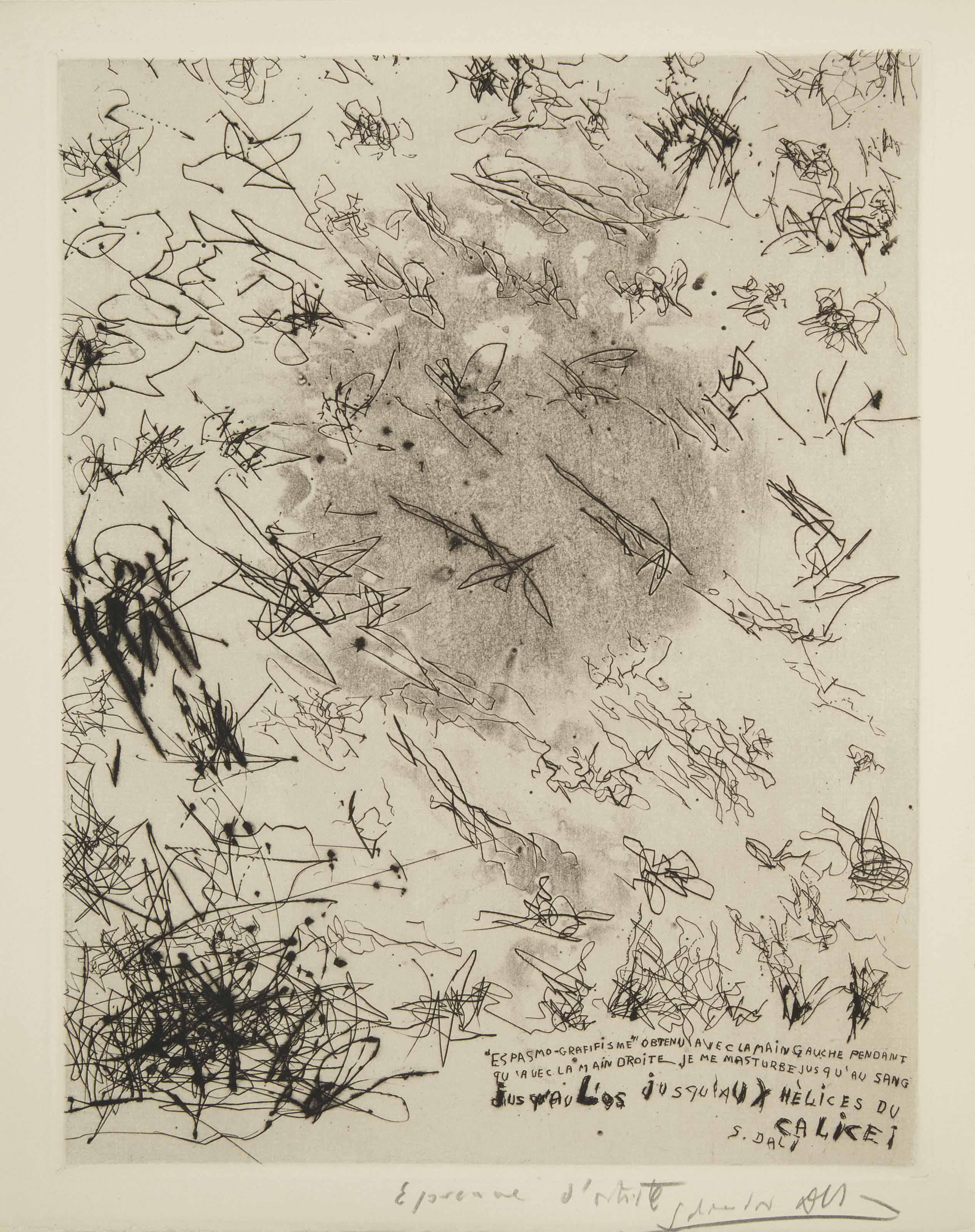 [DALI] -- HUGNET, Georges (1906-1974). Onan. Paris: Grou-Radenez pour les éditions Surréalistes, 10 juin 1934.