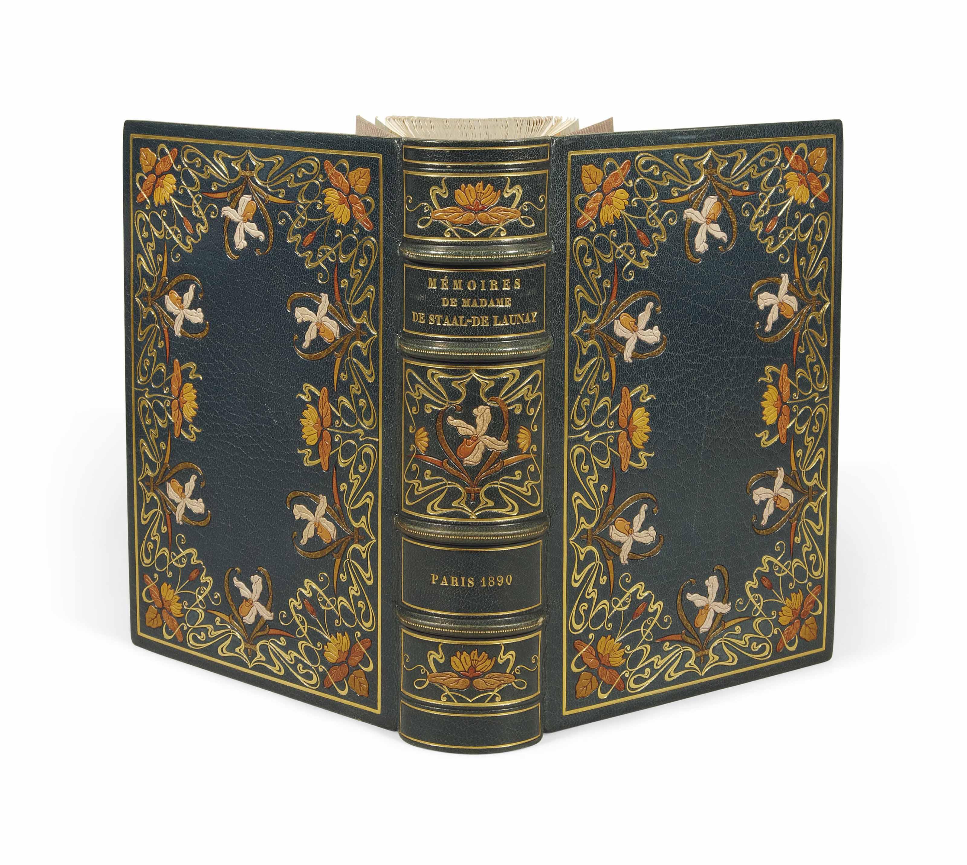[LALAUZE] -- STAAL, Marguerite Cordier de Launay, baronne de (1693-1750). Mémoires. Paris: A. Ferroud, 1890.