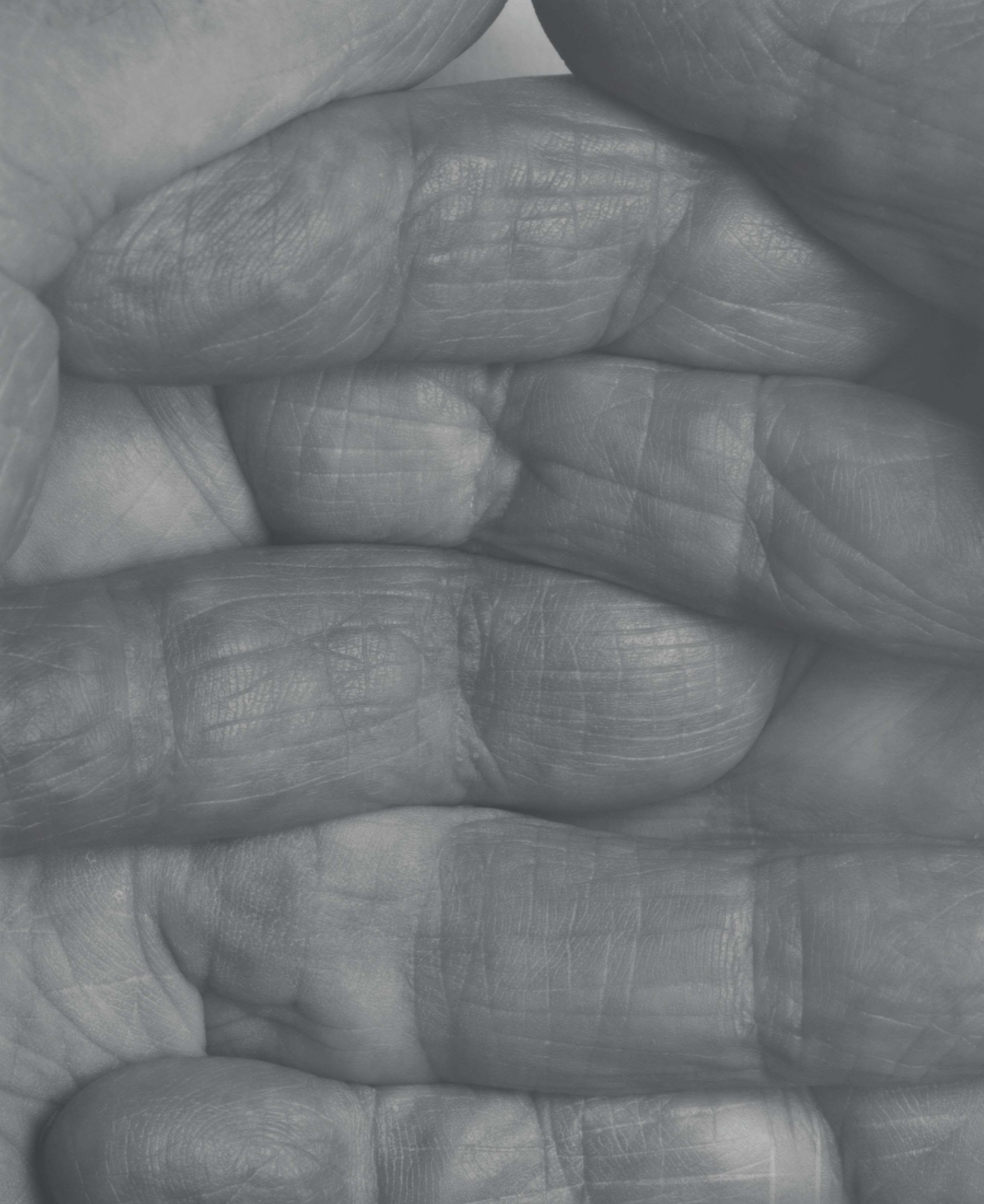Self Portrait Interlocking fingers, No 1, 1999