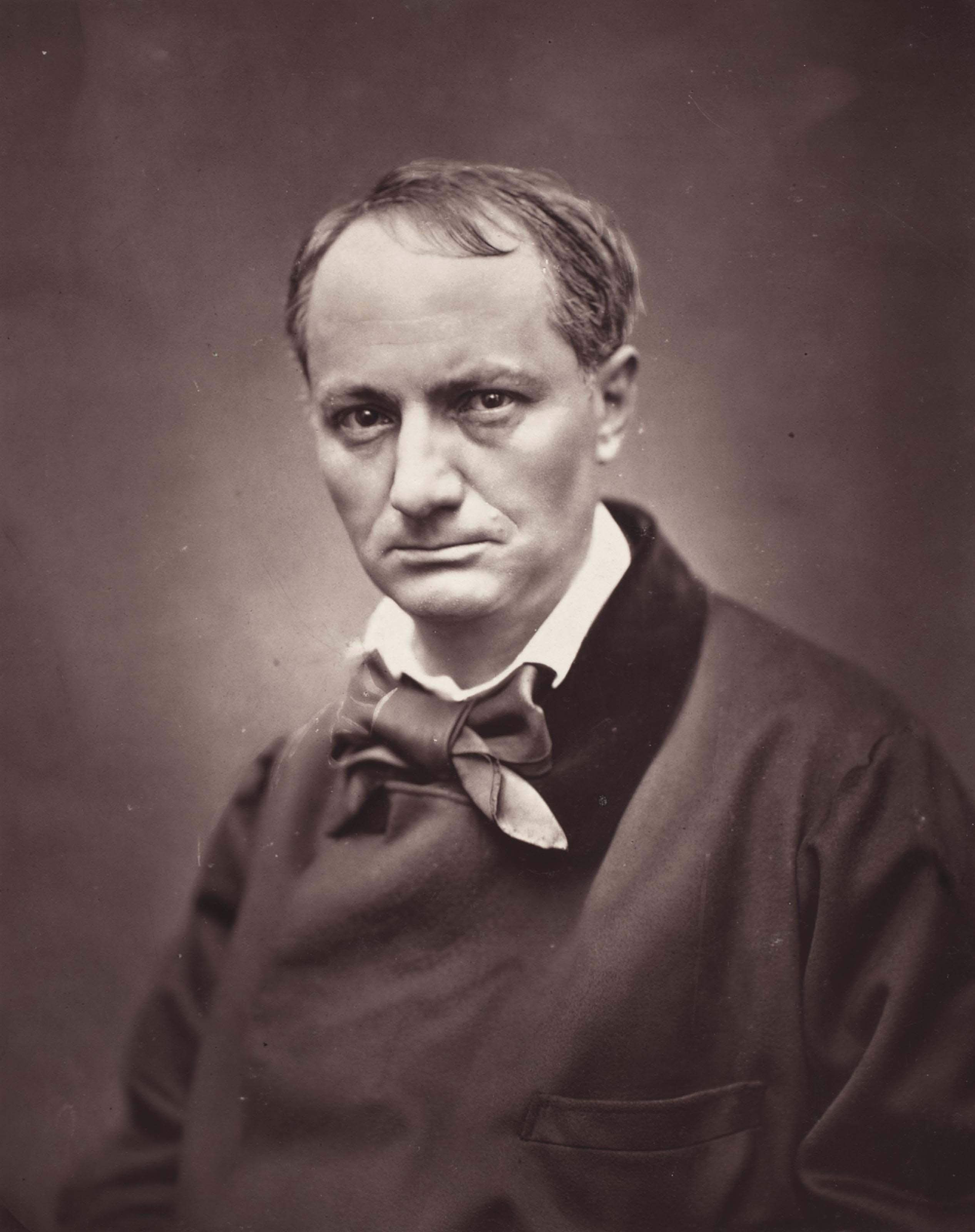 Charles Baudelaire, vers 1863