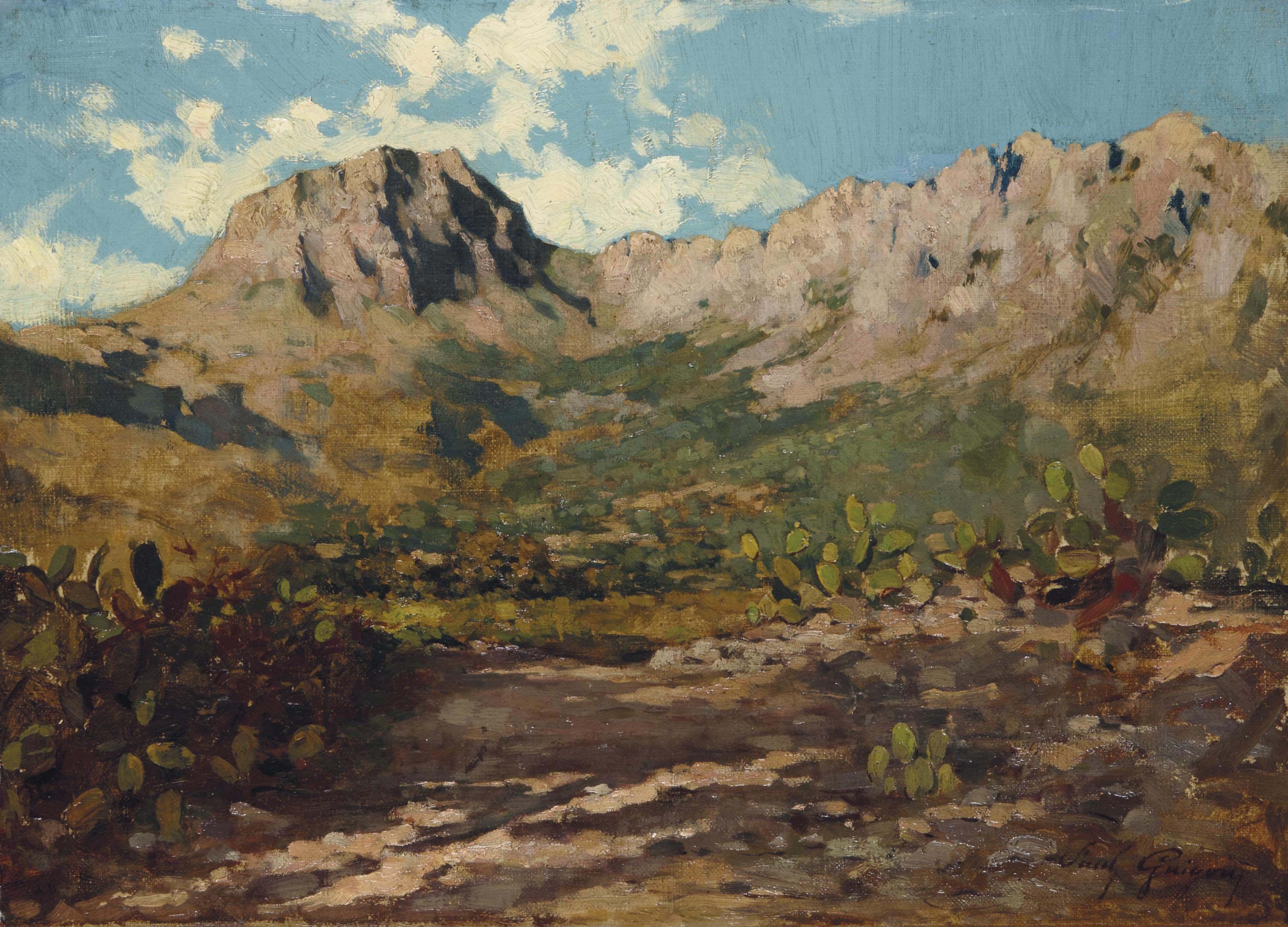 La montagne Sainte-Victoire aux abords d'Aix-en-Provence