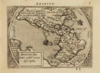 ORTELIUS, Abraham (1527-1598). Epitome du théâtre du monde. Anvers: Christofle Plantin pour Philippe Galle, 1588.
