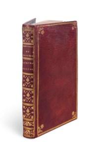 ROUSSEAU, Jean-Jacques (1712-1778). [Du Contract Social. Faux-titre] Principes du droit politique. Amsterdam : Michel Rey, 1762.