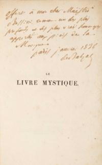 BALZAC, Honoré de (1799-1850). Le Livre mystique. Paris: Werdet, 1836.