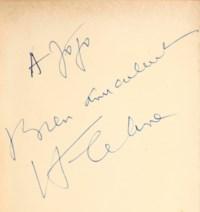 CÉLINE, Louis-Ferdinand Destouches, dit (1894-1961). L'École des cadavres. Paris : éditions Denoël, 1938.