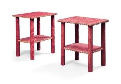 PAIRE DE TABLES BOUTS DE CANAP