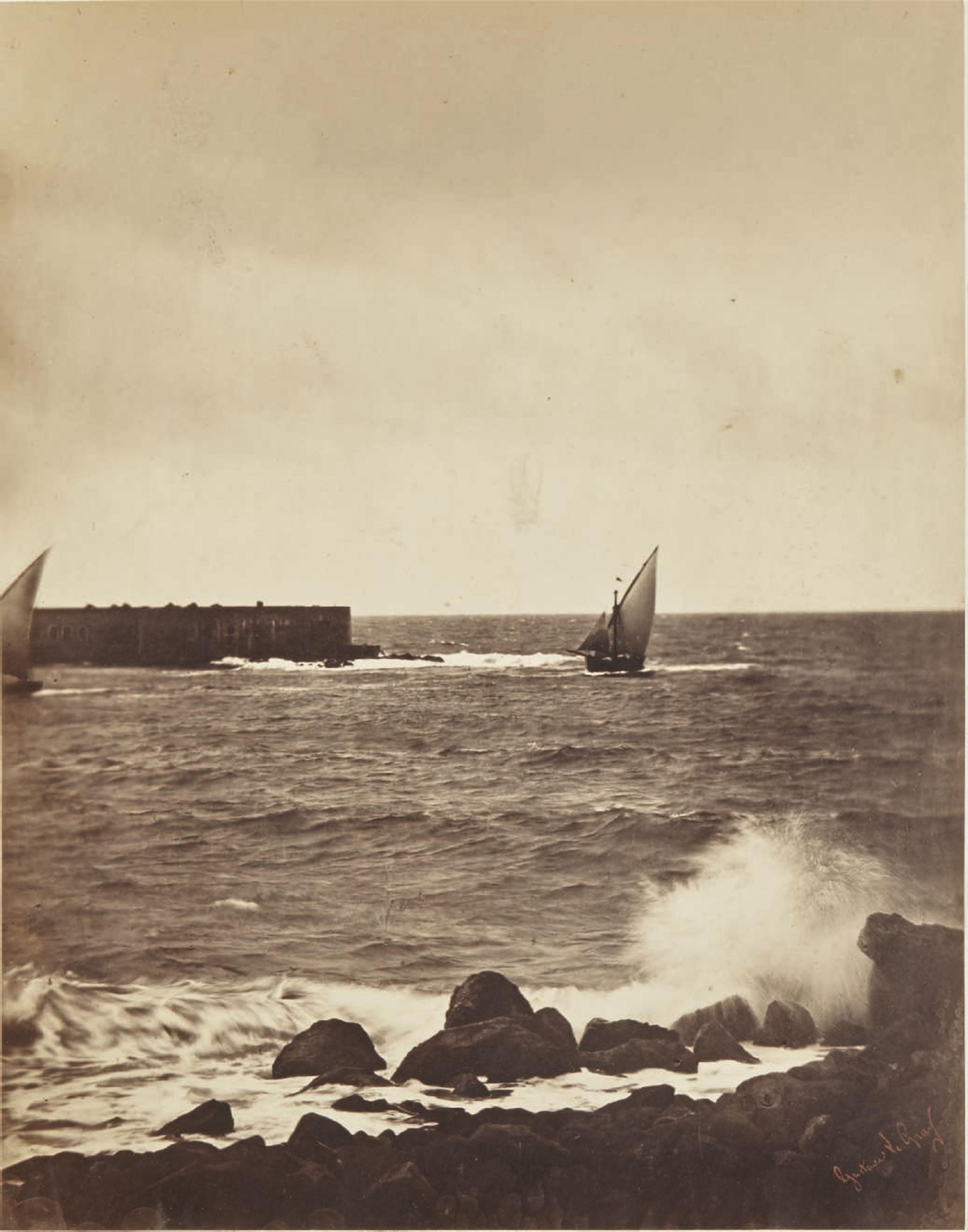 La vague brisée, mer Méditerranée, 1857