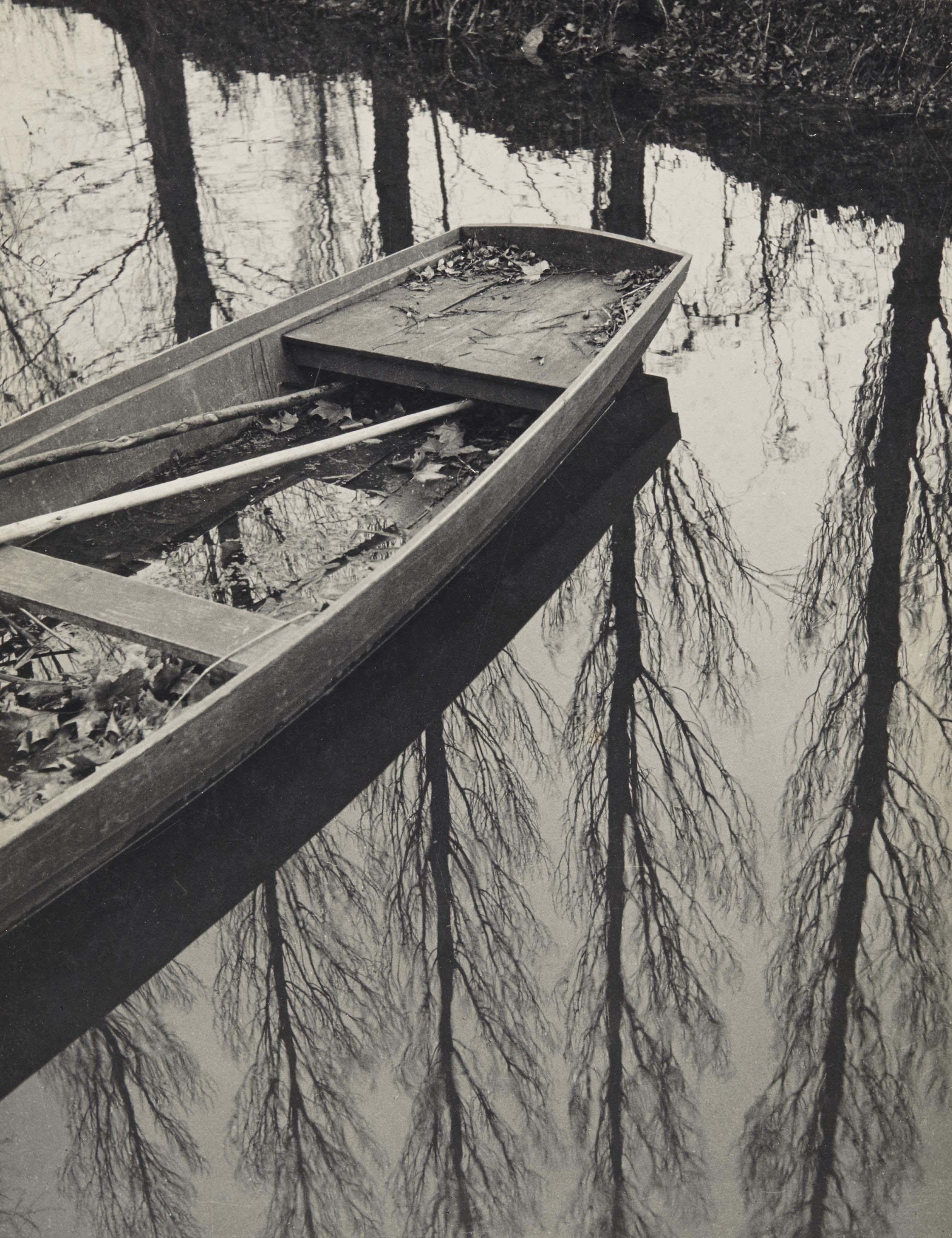 L'automne sur le Clain, Poitou, 1931