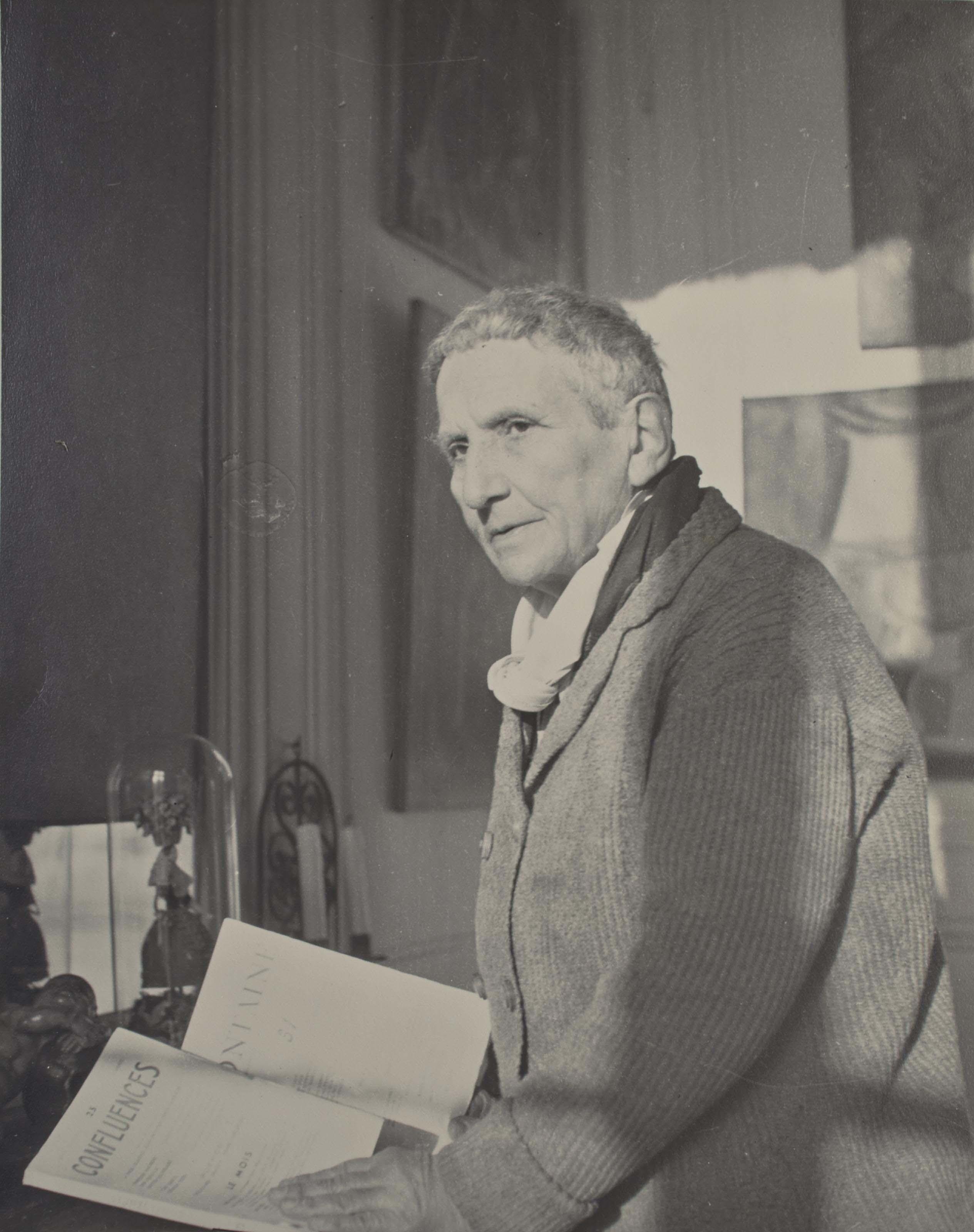 Gertrude Stein, rue Christine, vers 1945