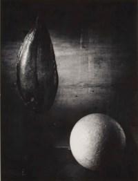 Stilleben mit fisch und kugel, 1958