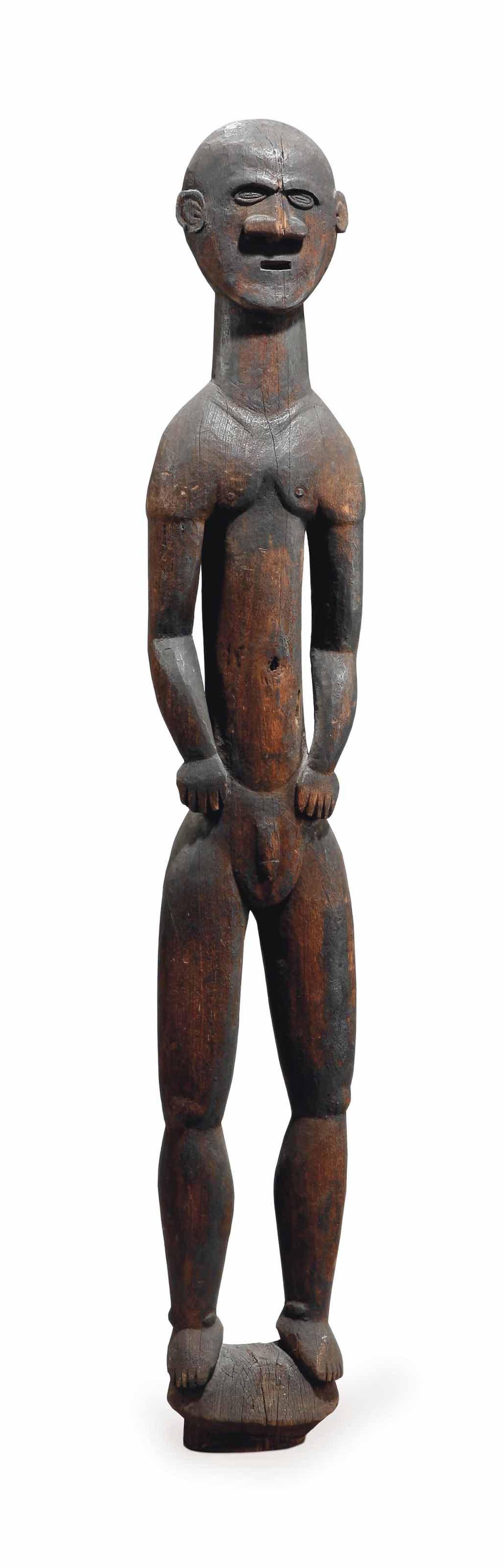 Statue kanak Kanak figure