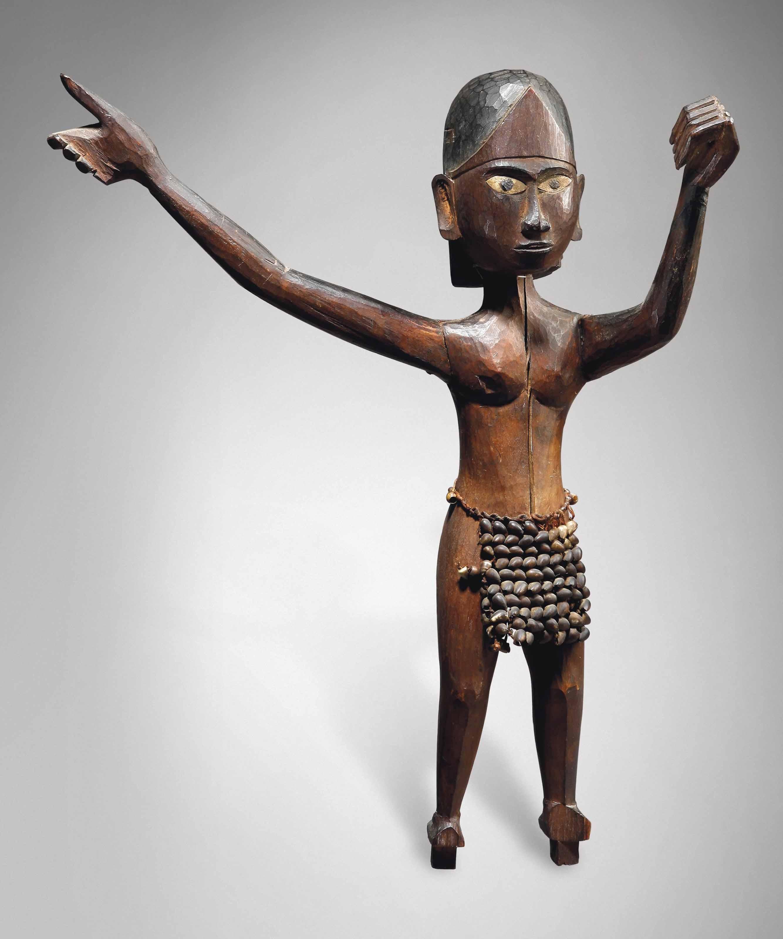 Statuette féminine, kareau Fem