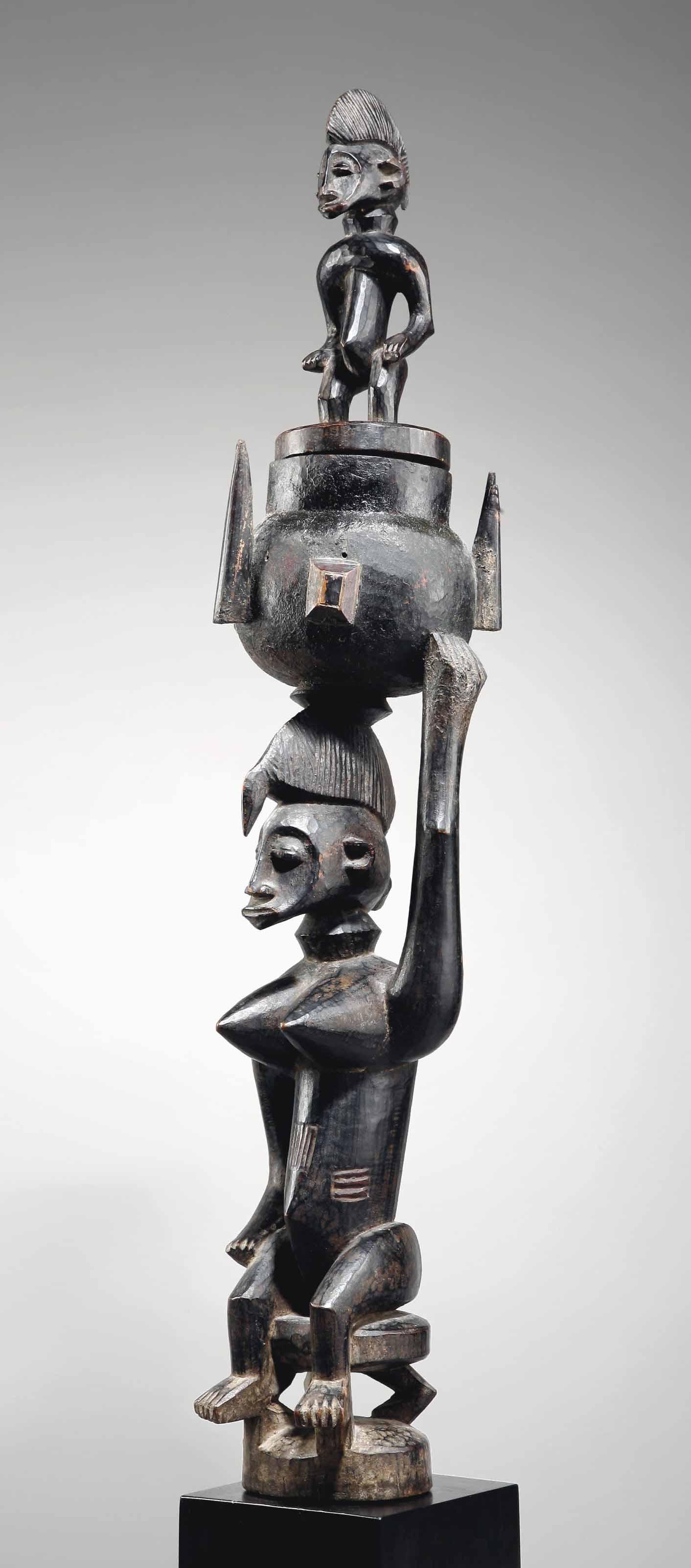 Statuette féminine Senoufo A S