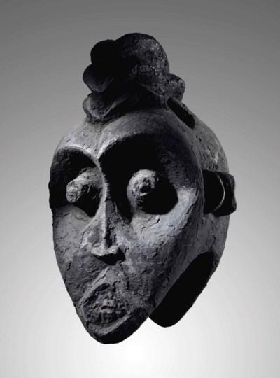 Masque janiforme, Bamiléké Bam