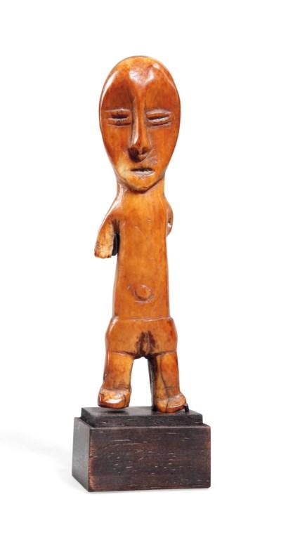Statuette en ivoire Lega Lega