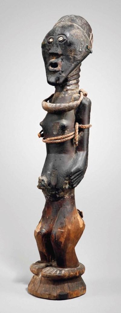 Statue Songye Songye power fig