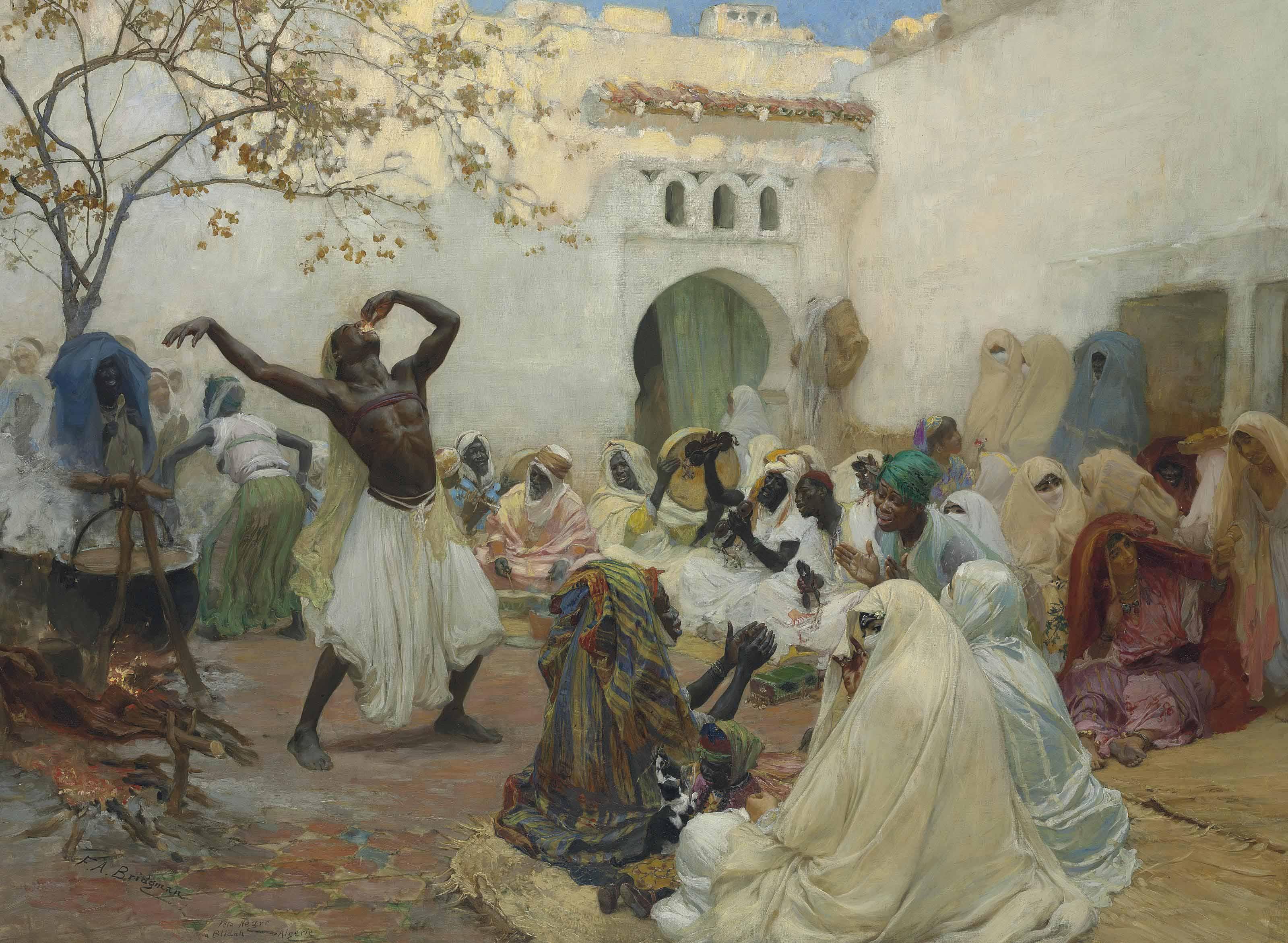 La cérémonie des Aïssaoui à Blida en Algérie