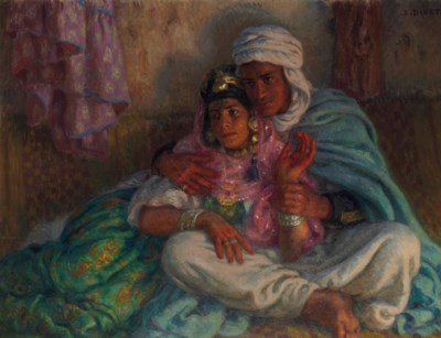 ETIENNE DINET (1861-1929)