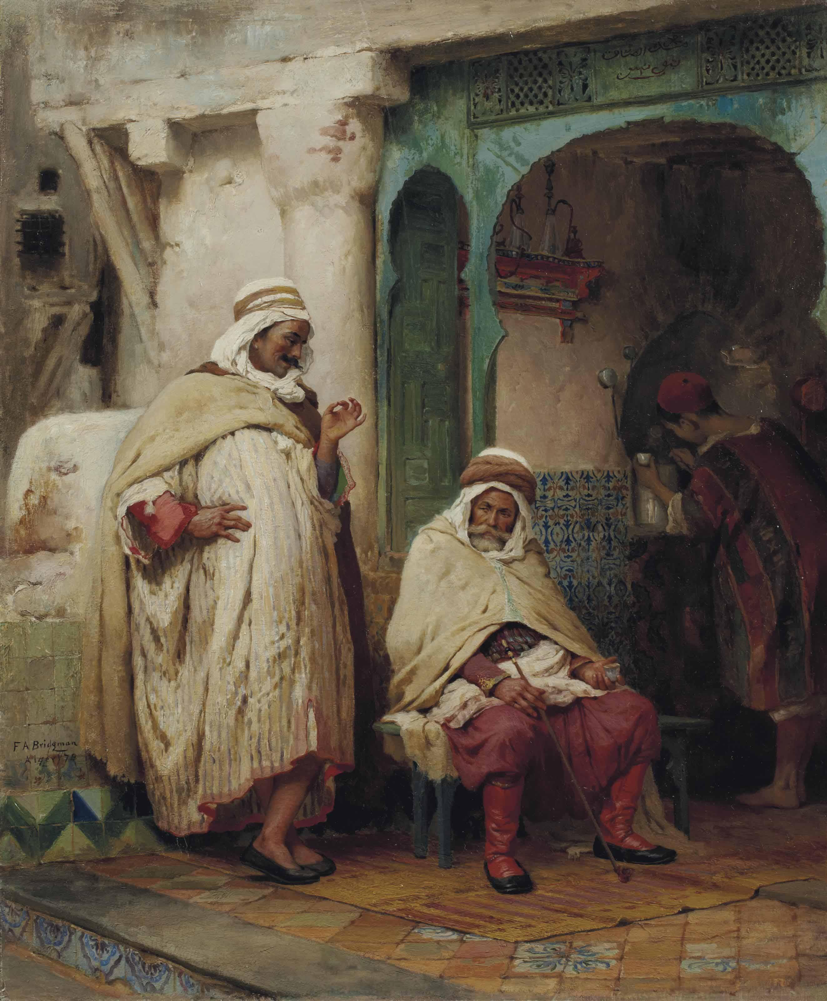 La conversation, Alger