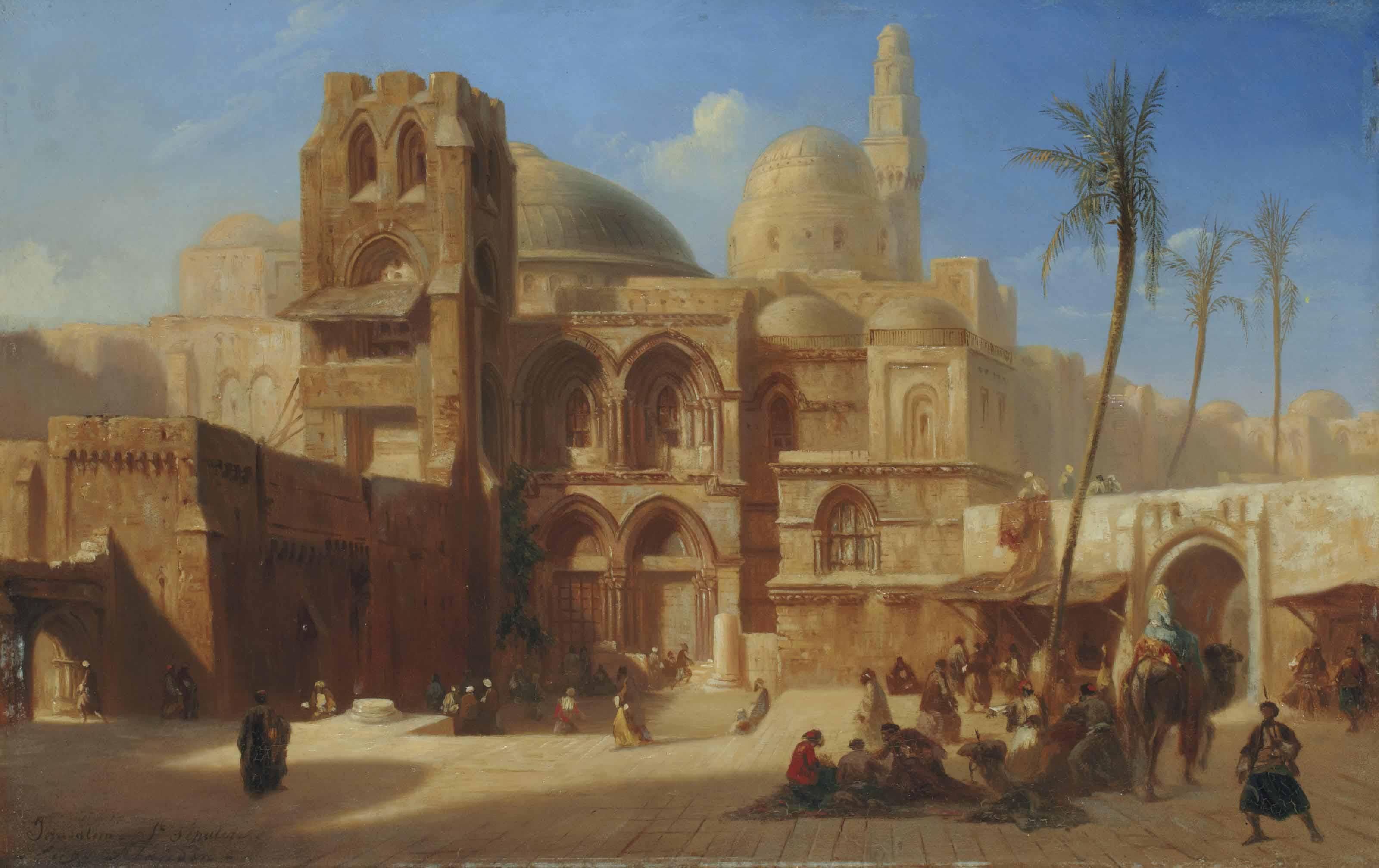 Le Saint Sépulcre à Jérusalem