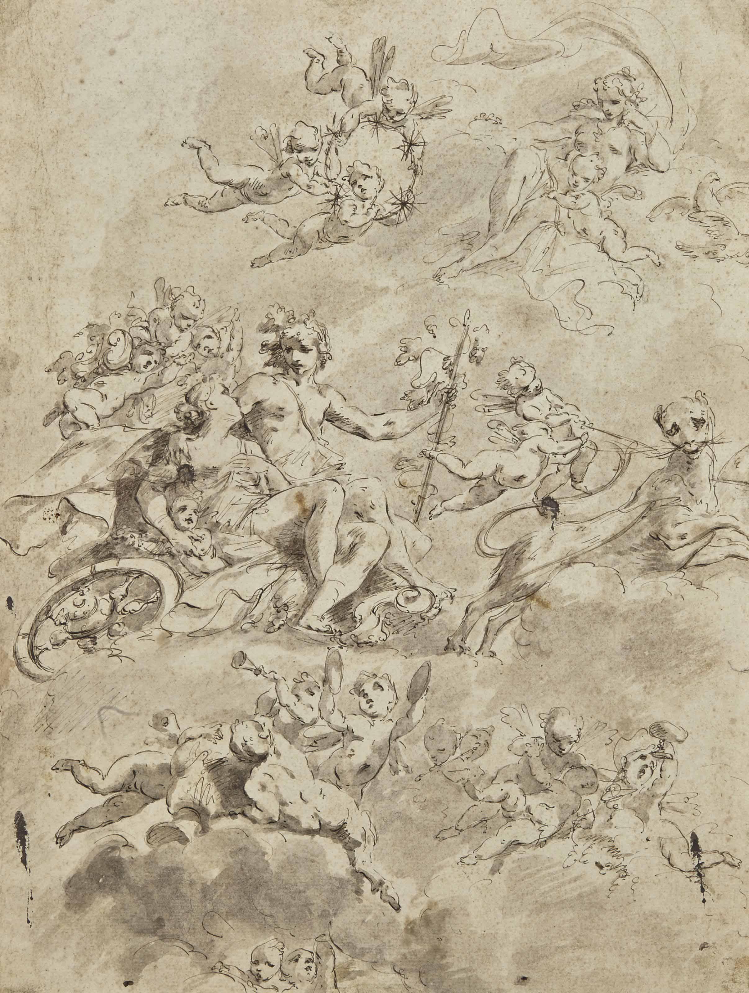 Le triomphe de Bacchus et Ariane