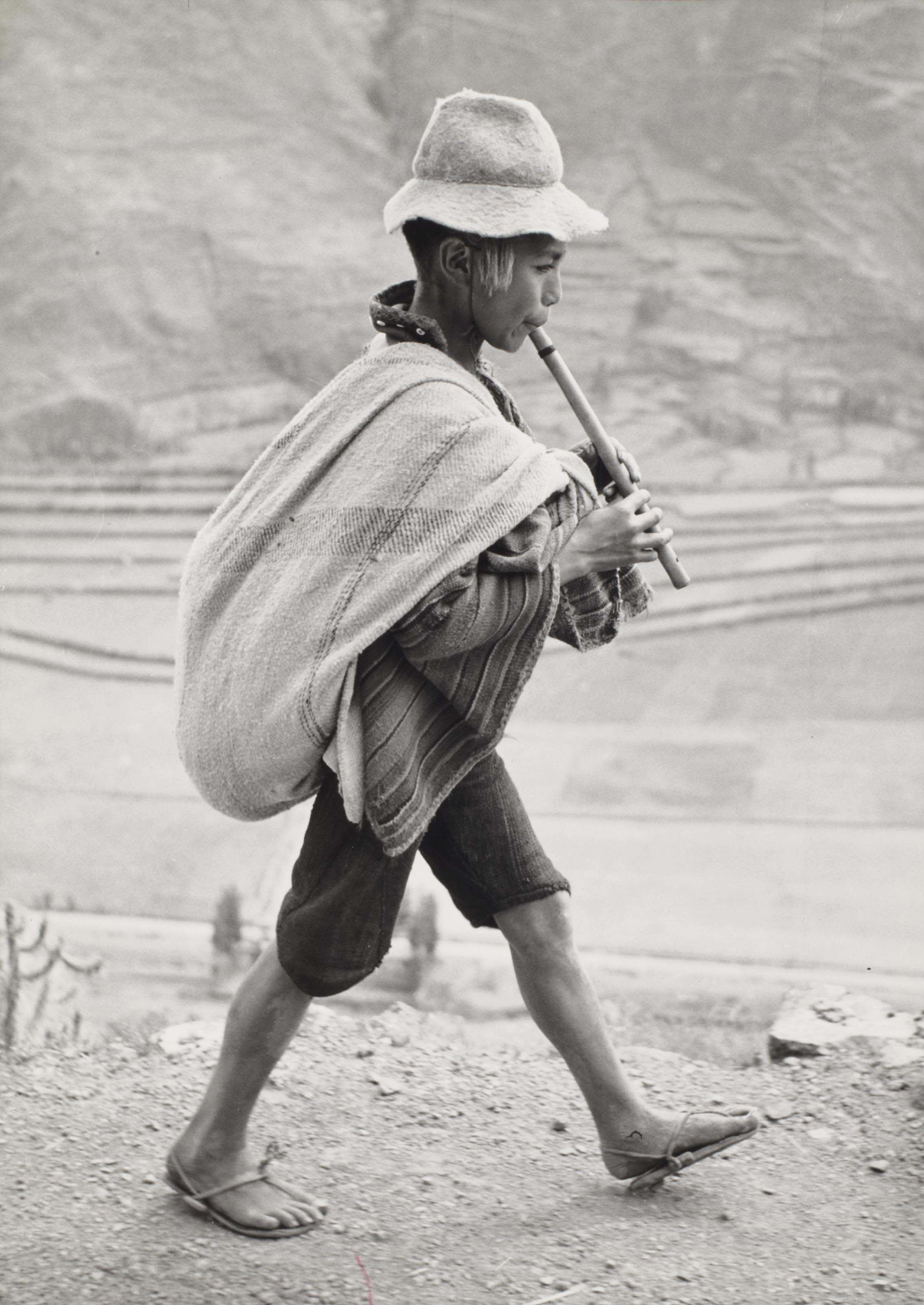 On the road to Cuzco, Peru, 1954