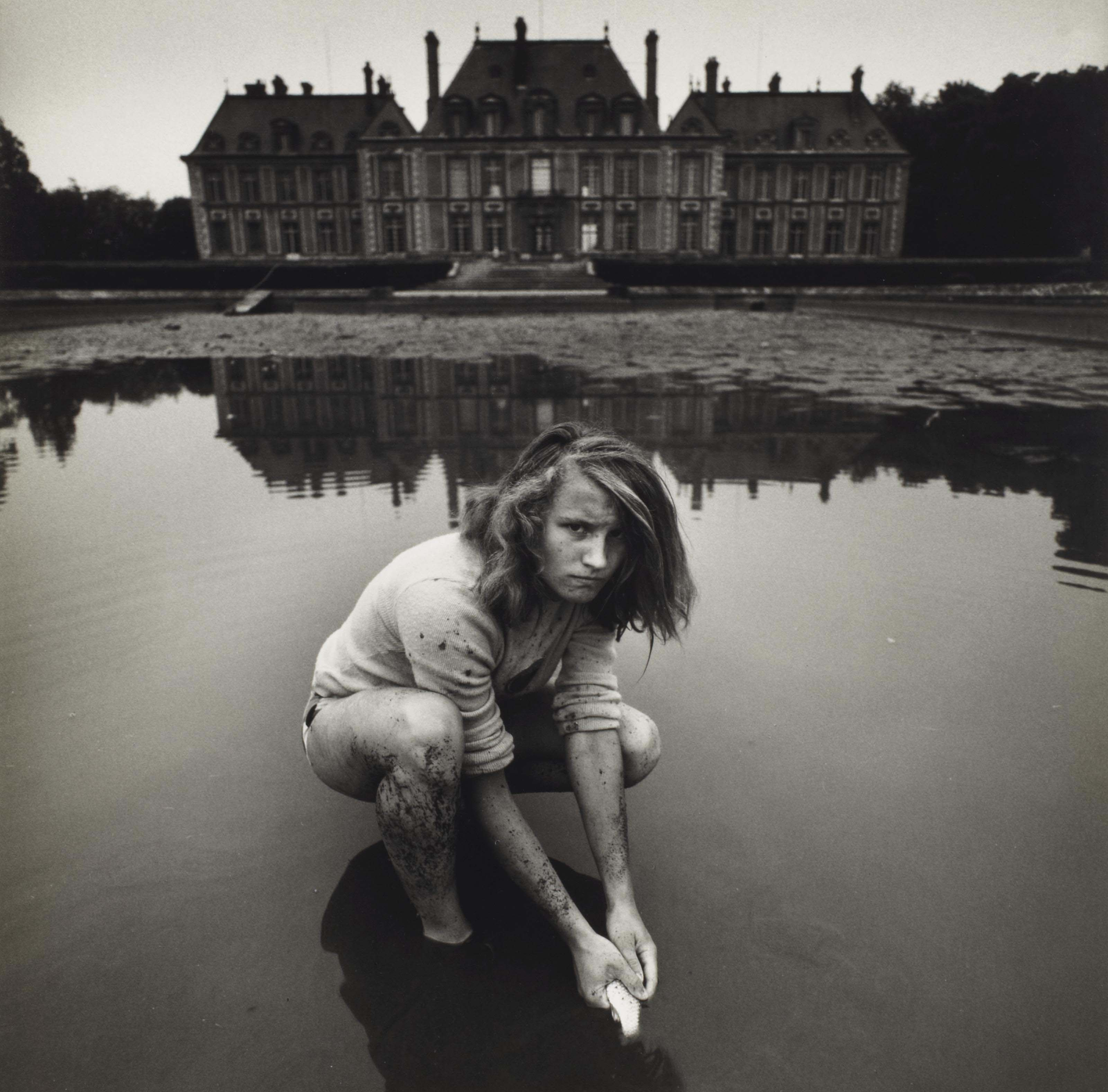 Girl with goldfish, 1974