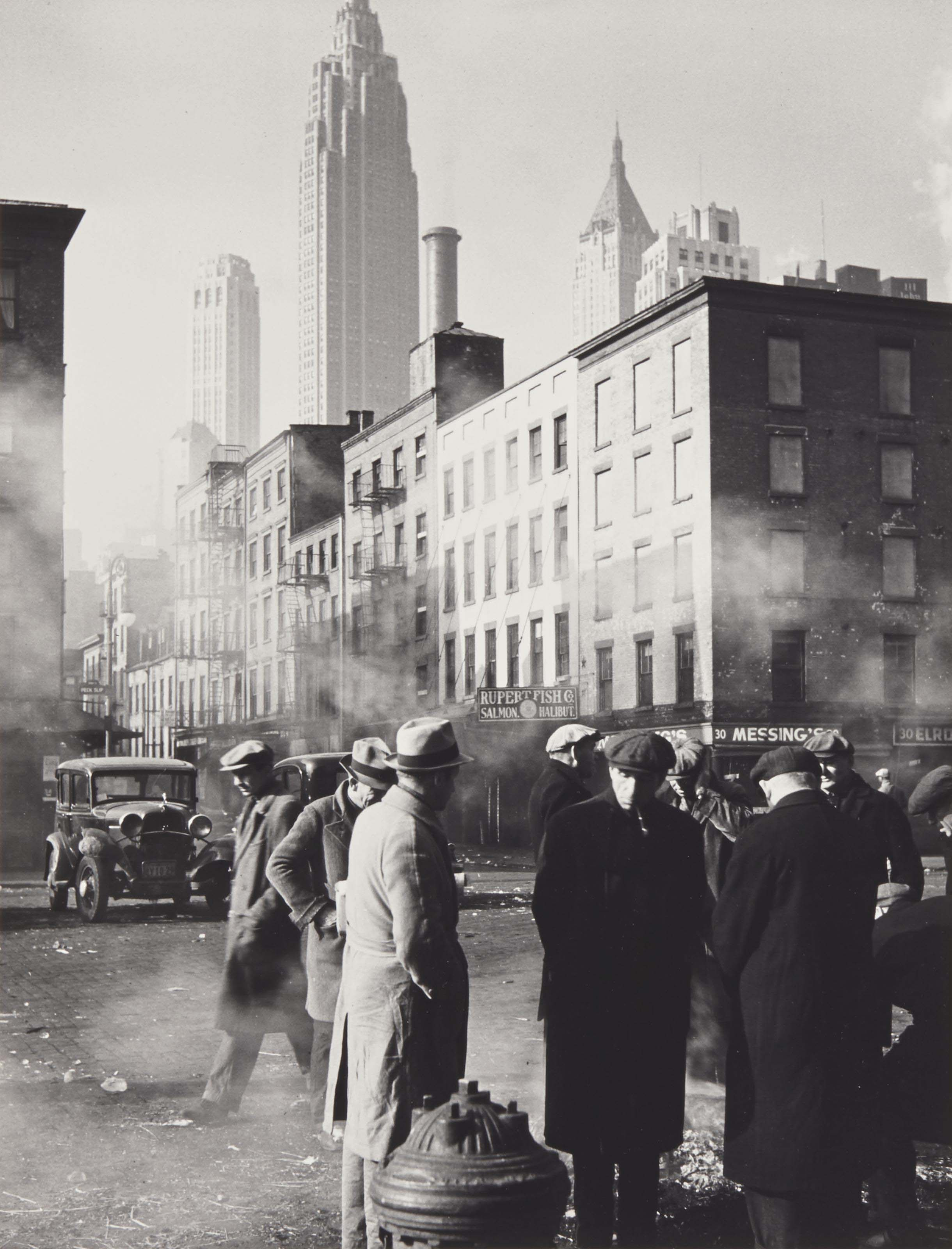 New York, vers 1940