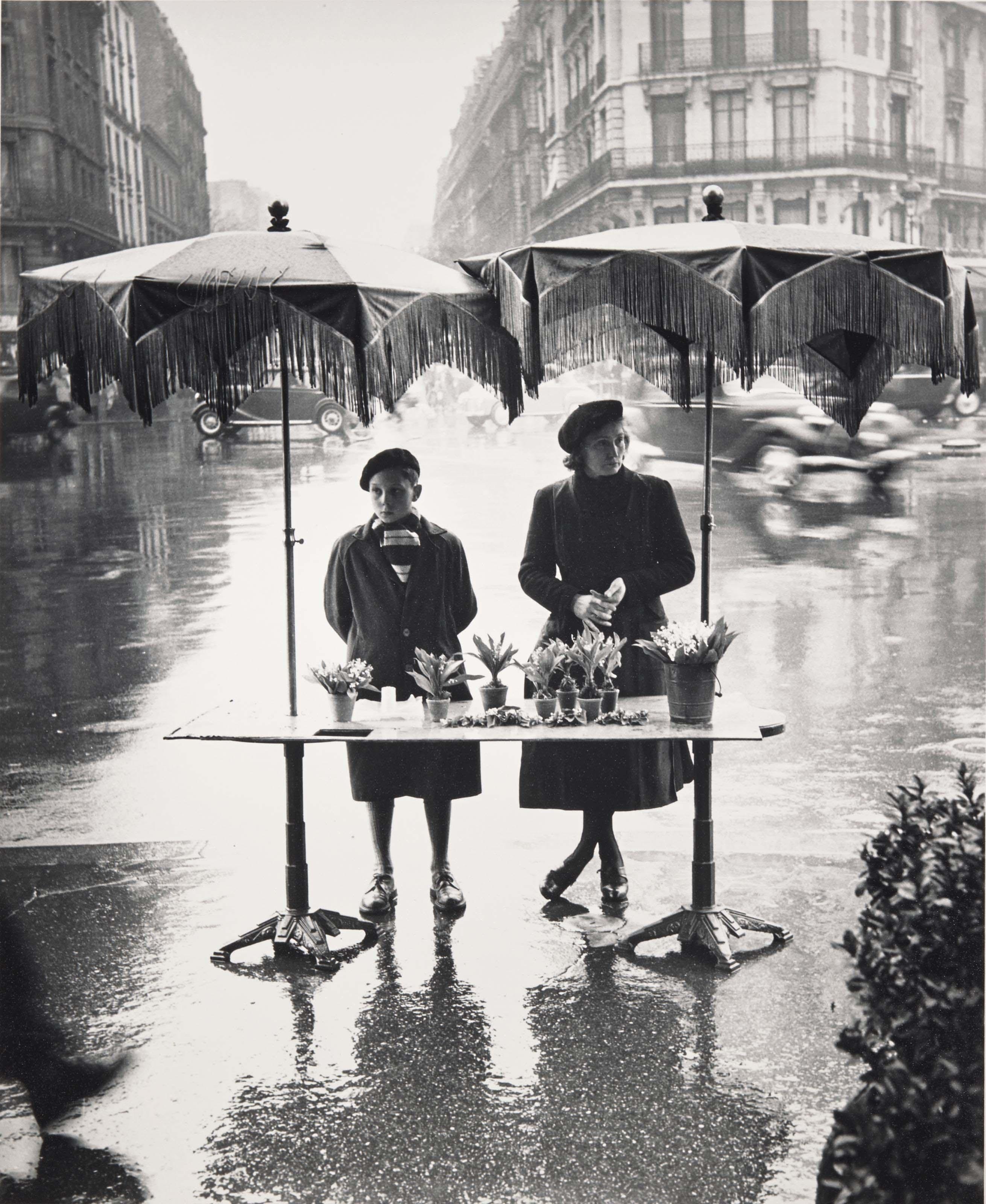 1er mai, place Victor-Basch, Paris, 1950