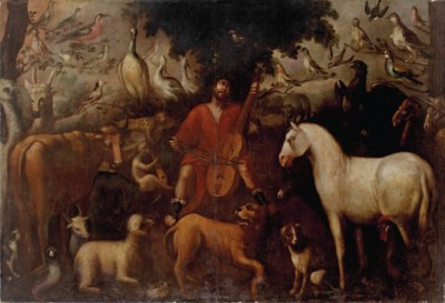 Circle of Jan van Kessel II (A
