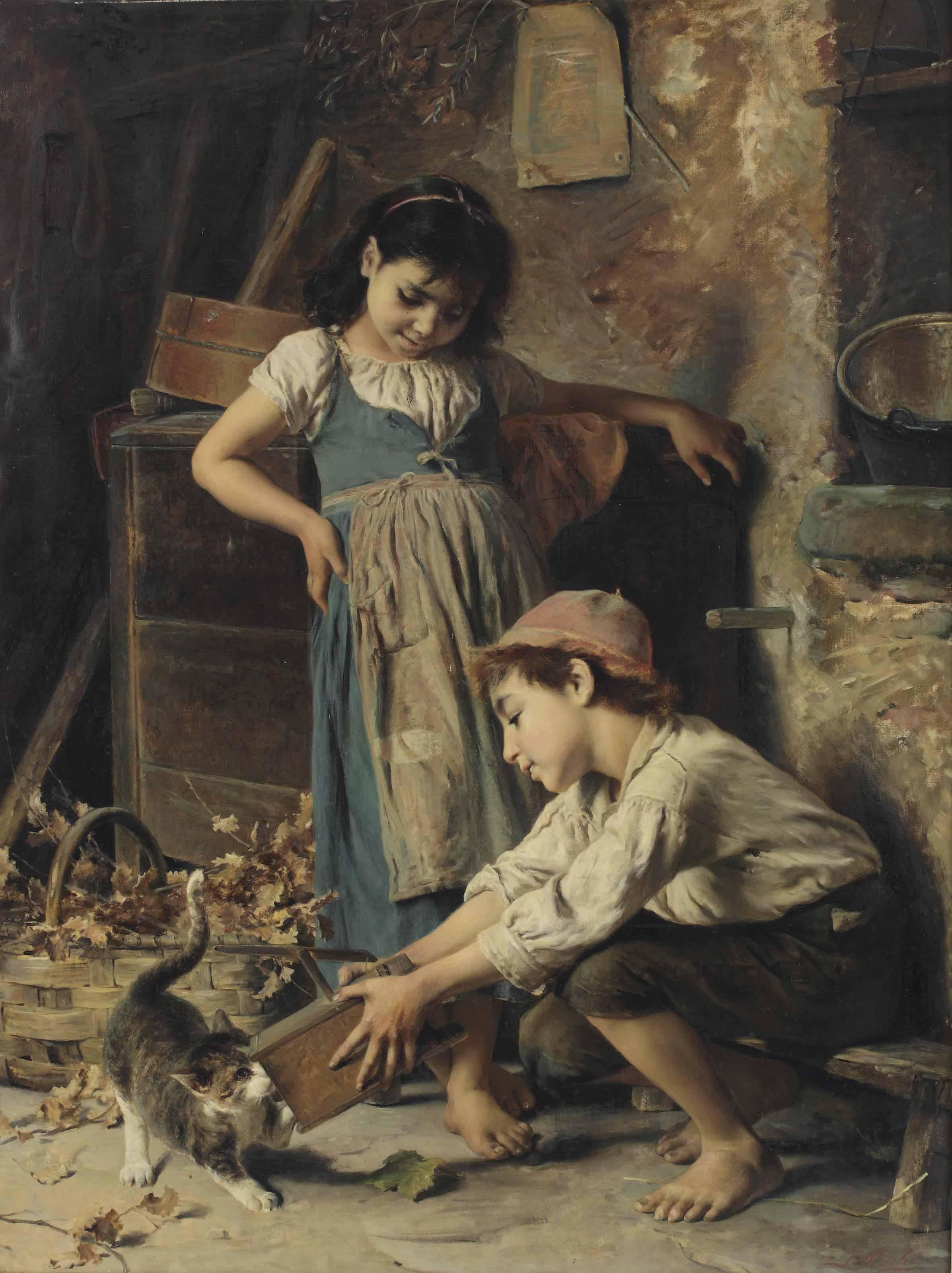 Luigi Bechi (Florence 1830-191