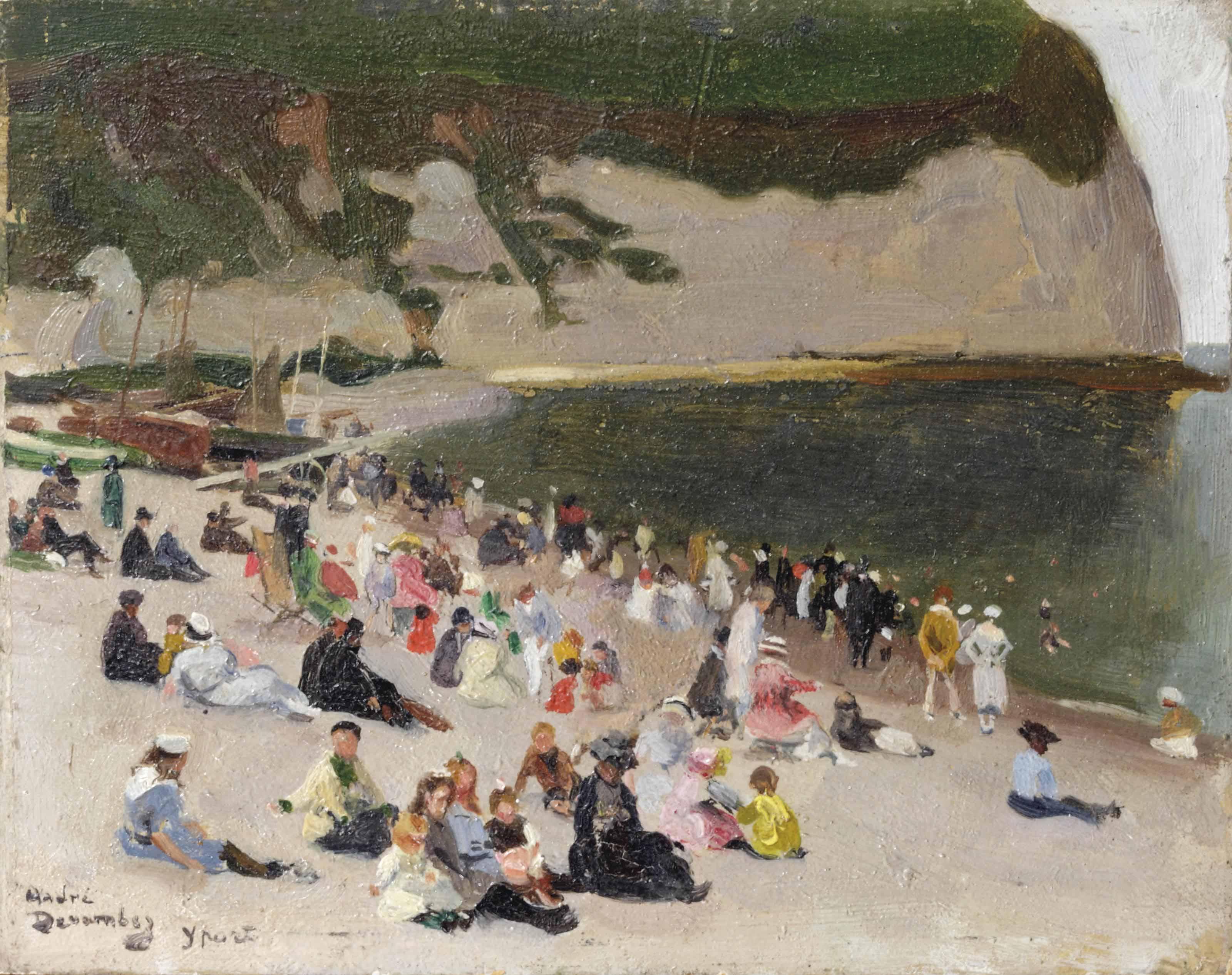 La plage d'Yport