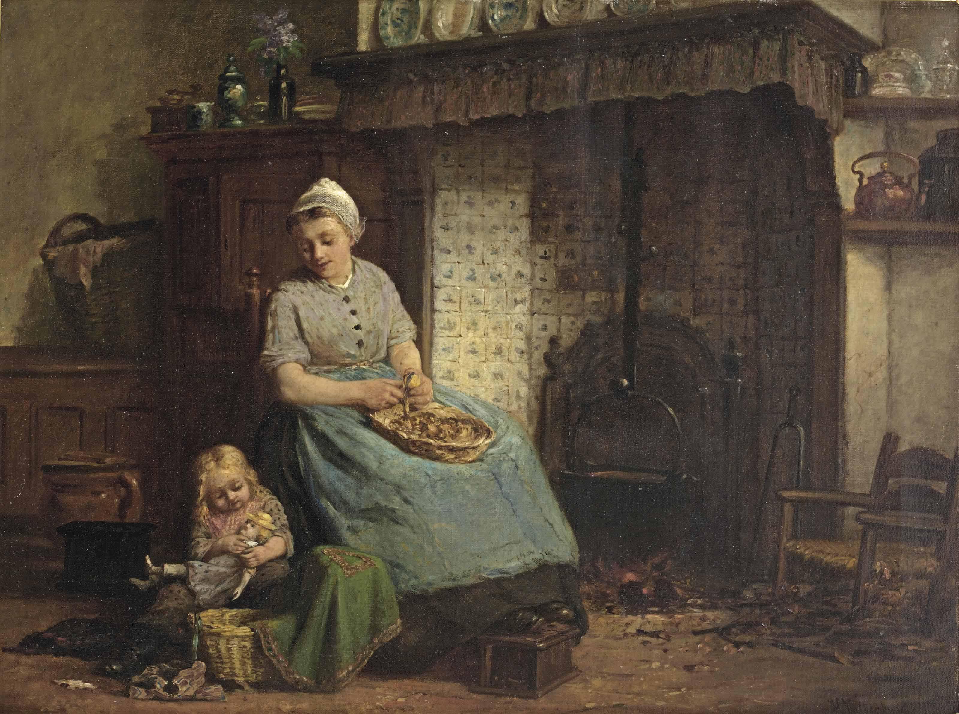 Hendrik Valkenburg (Terwolde 1826-1896 Amsterdam)